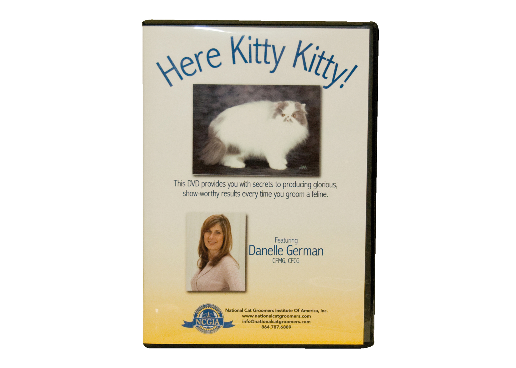 Danelle German's DVD Here Kitty Kitty DVD éducatif