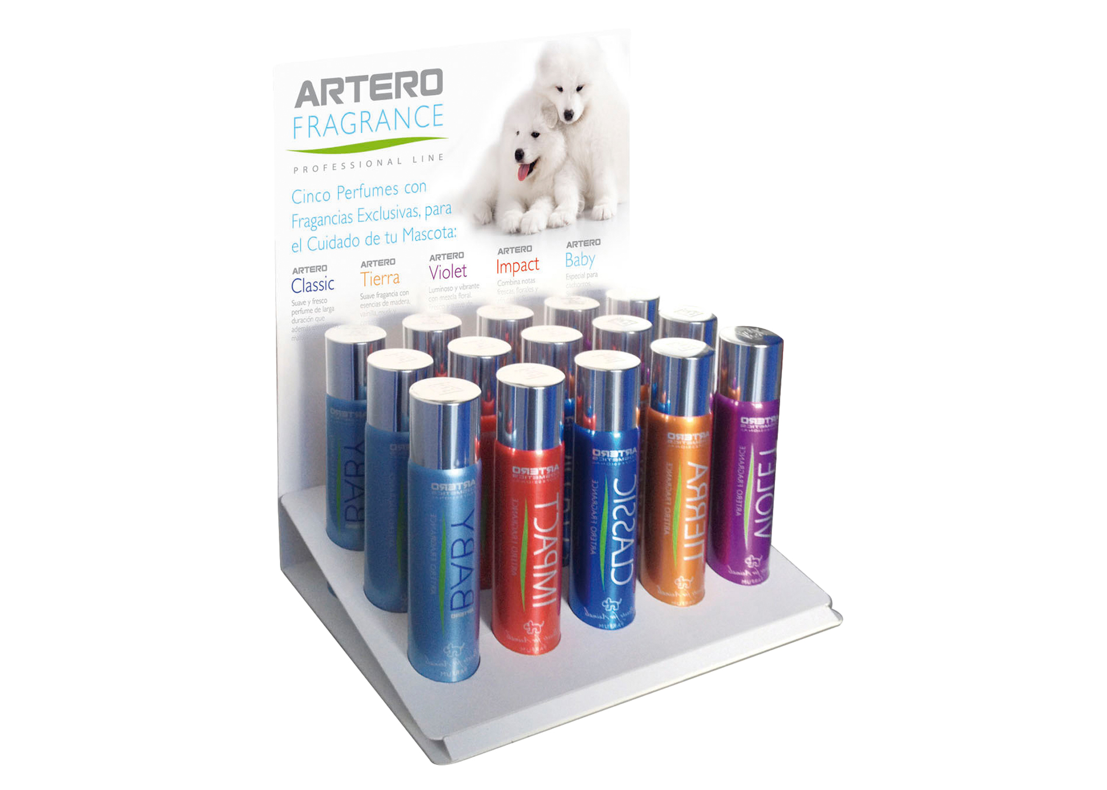 Artero Perfume Display 15 x 90ml Perfume