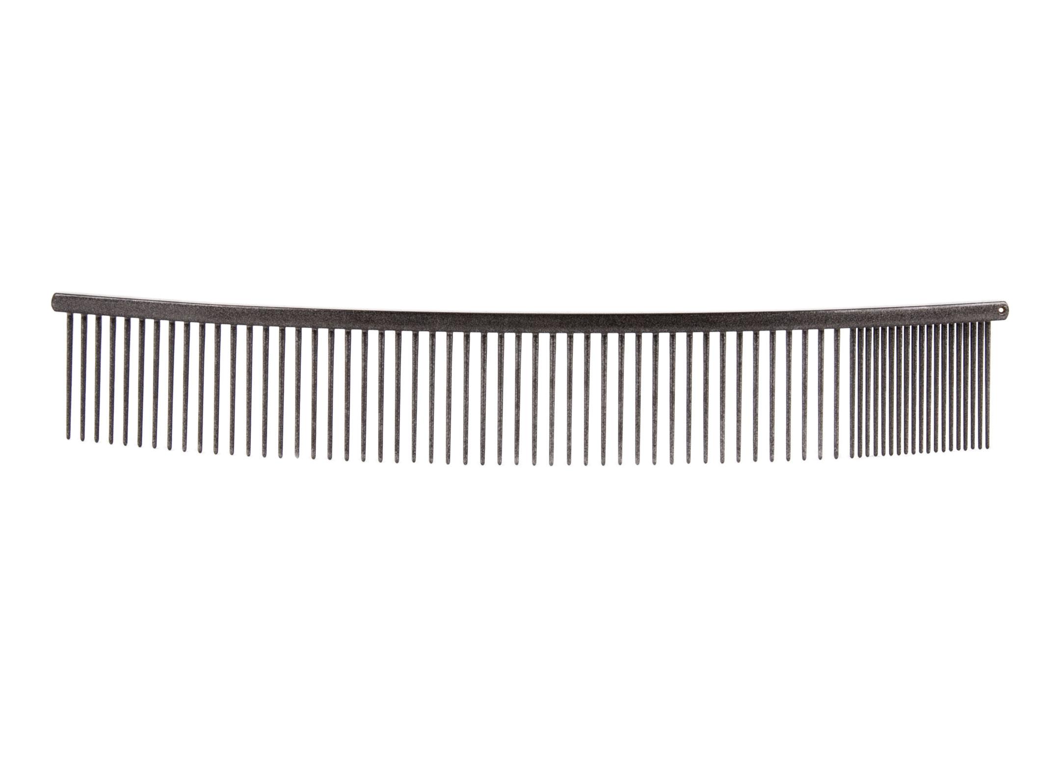Show Tech Curved Combi Comb 25 cm - Grey Comb