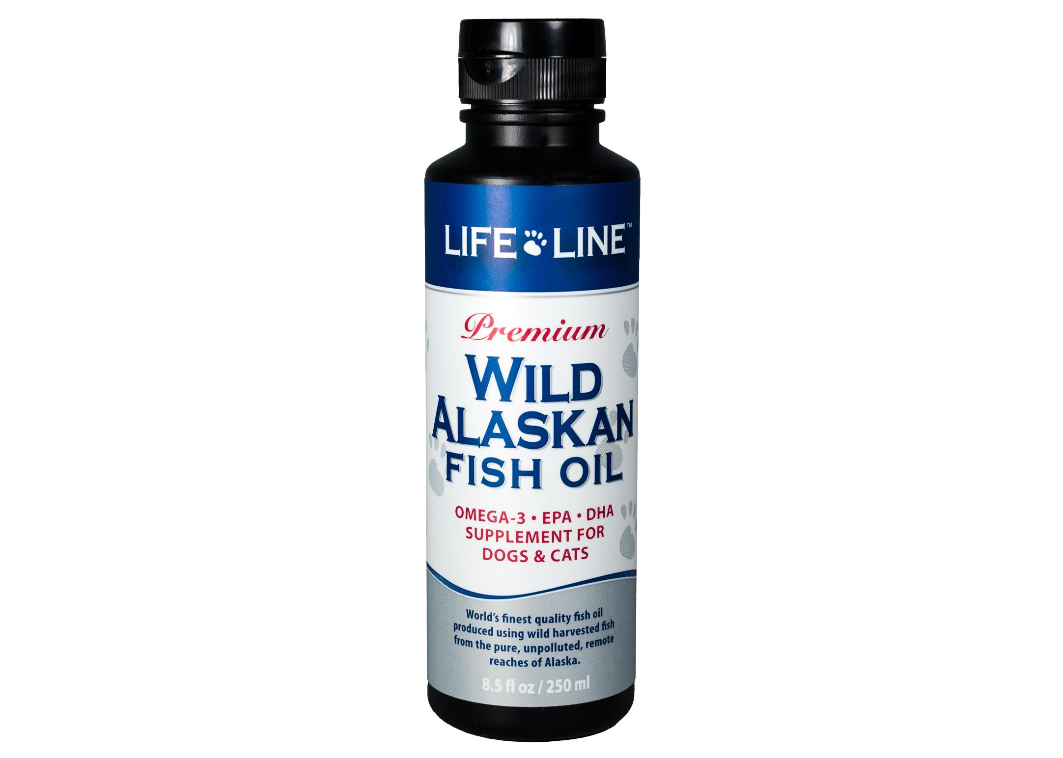 Life Line Wild Alaskan huile de poisson 250g