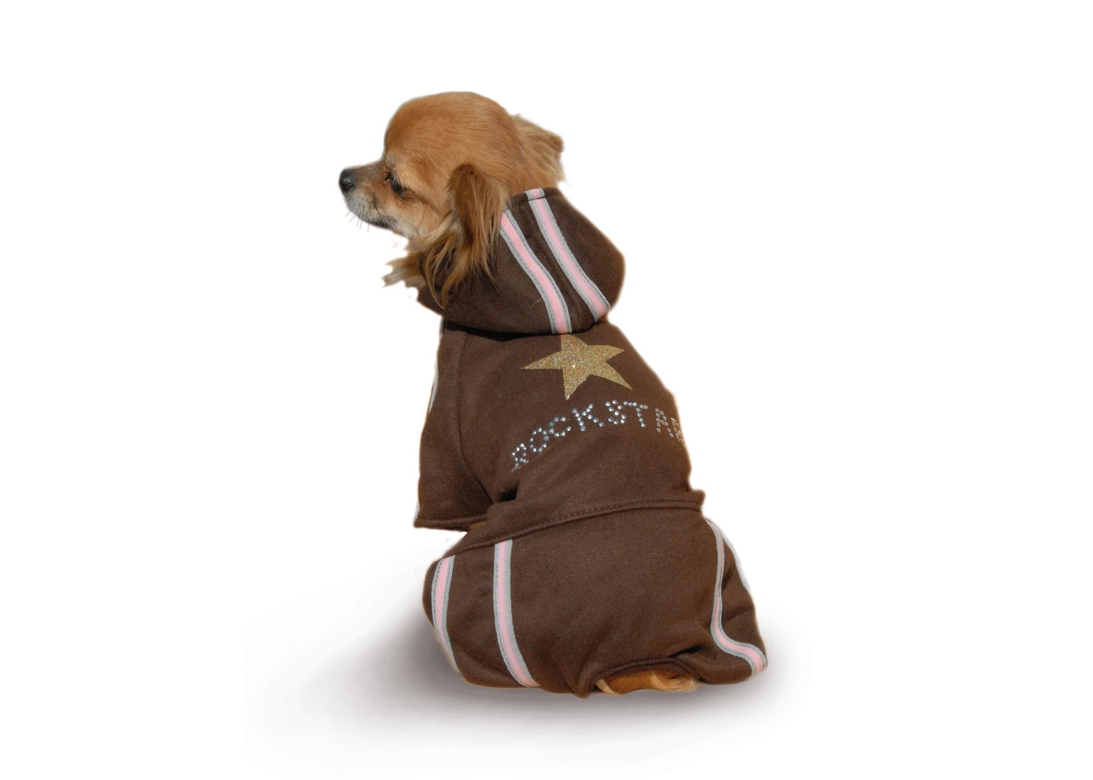 Max+Co Rockstar Overall  Attire For Dogs