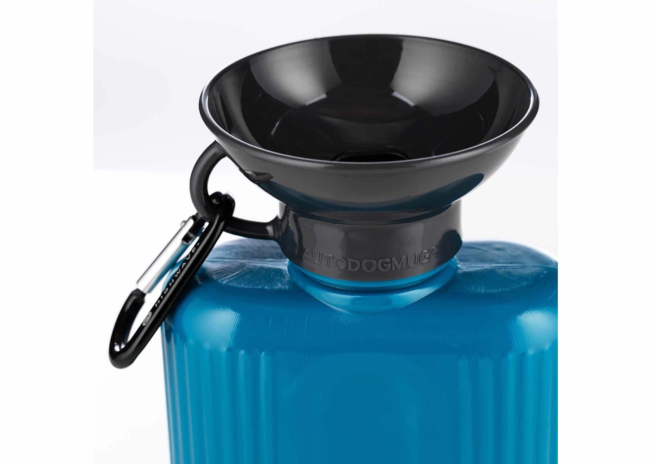 Highwave Auto Dog Mug Growler Pacific Blue 1300ml Drinking Bottle