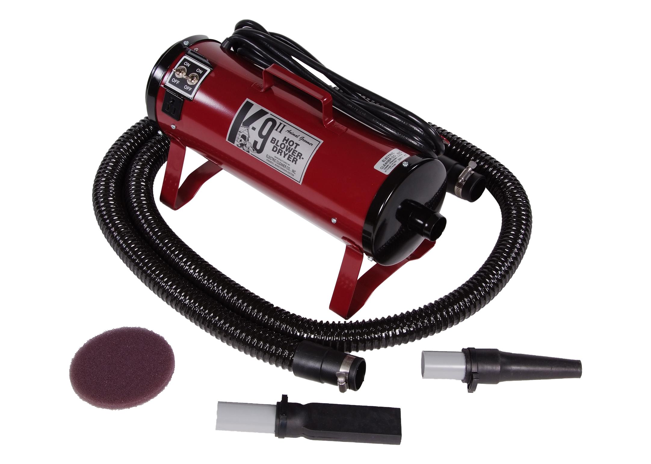 K9 Power Blaster II Hair Dryer Burgundy