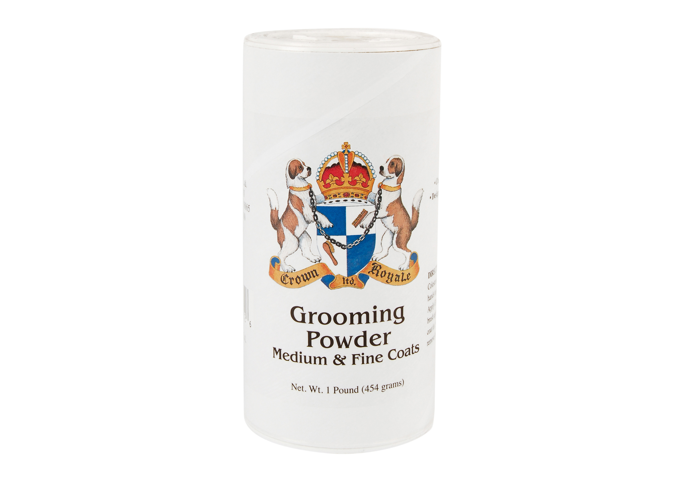 Crown Royale Grooming Powder Fine & Medium Body Coats 450 gr Kalk