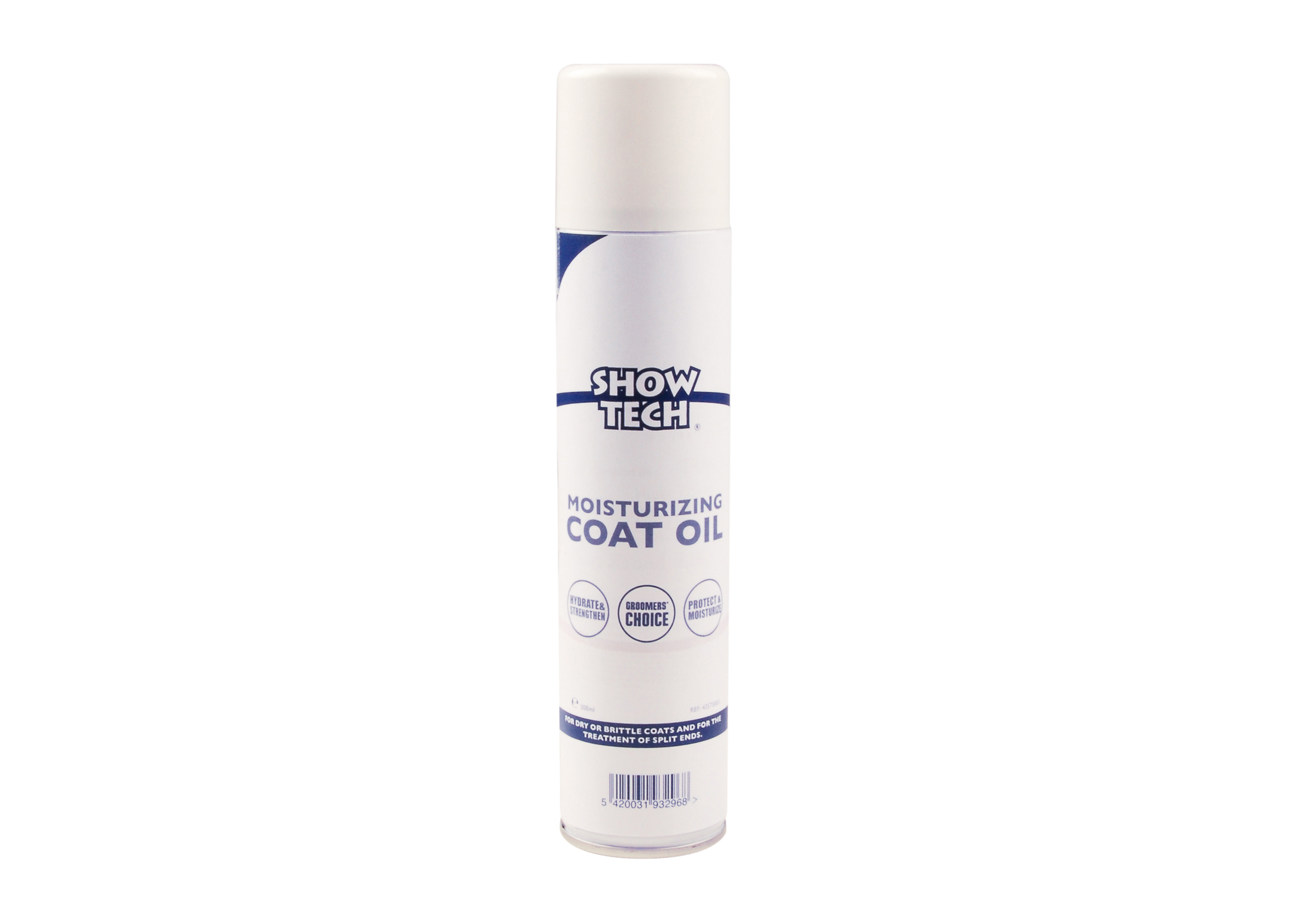 Show Tech Moisturizing Coat Oil 300ml Spray Hydratant