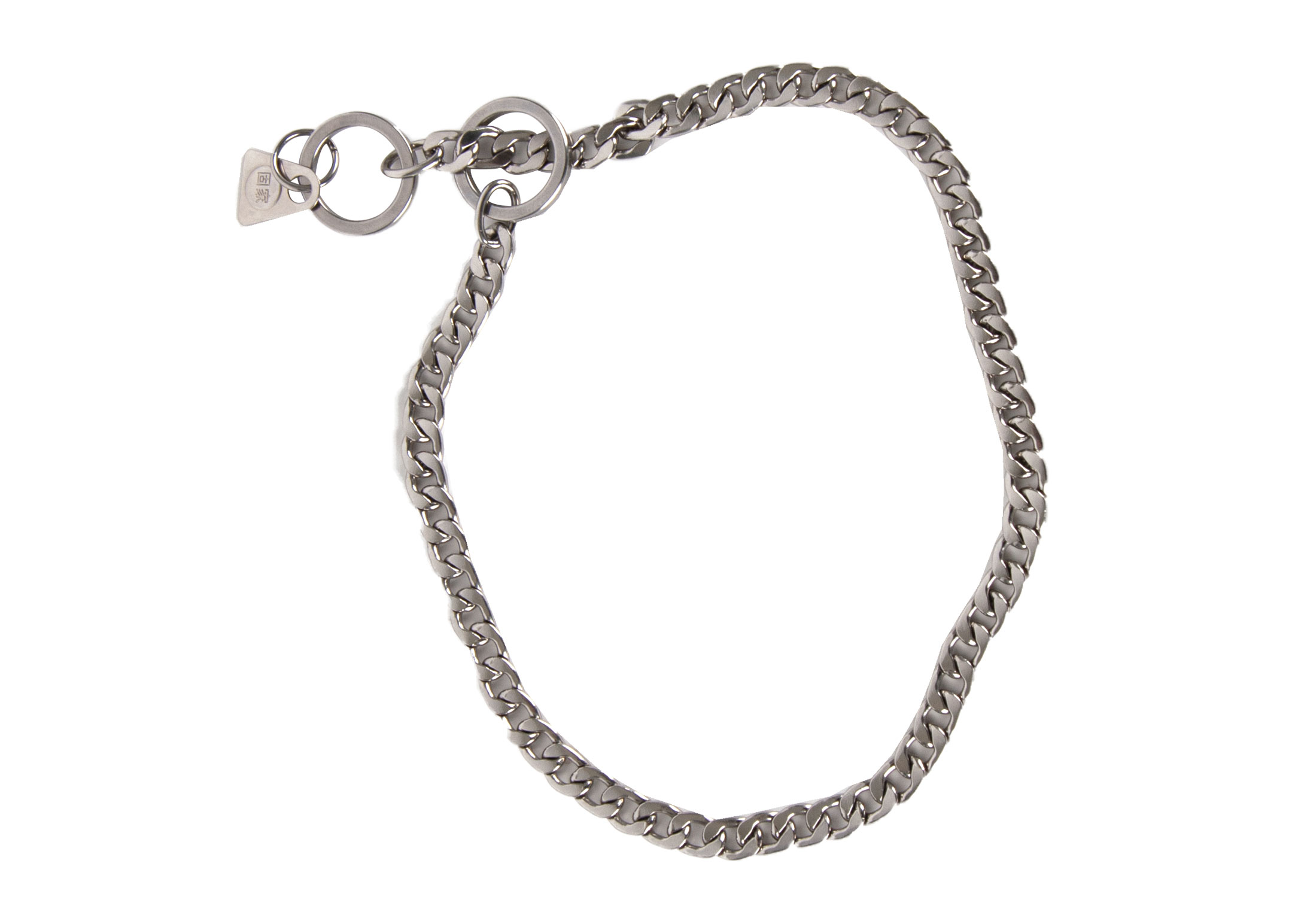 Show Tech+ Flat Link Show Chain Stainless Steel