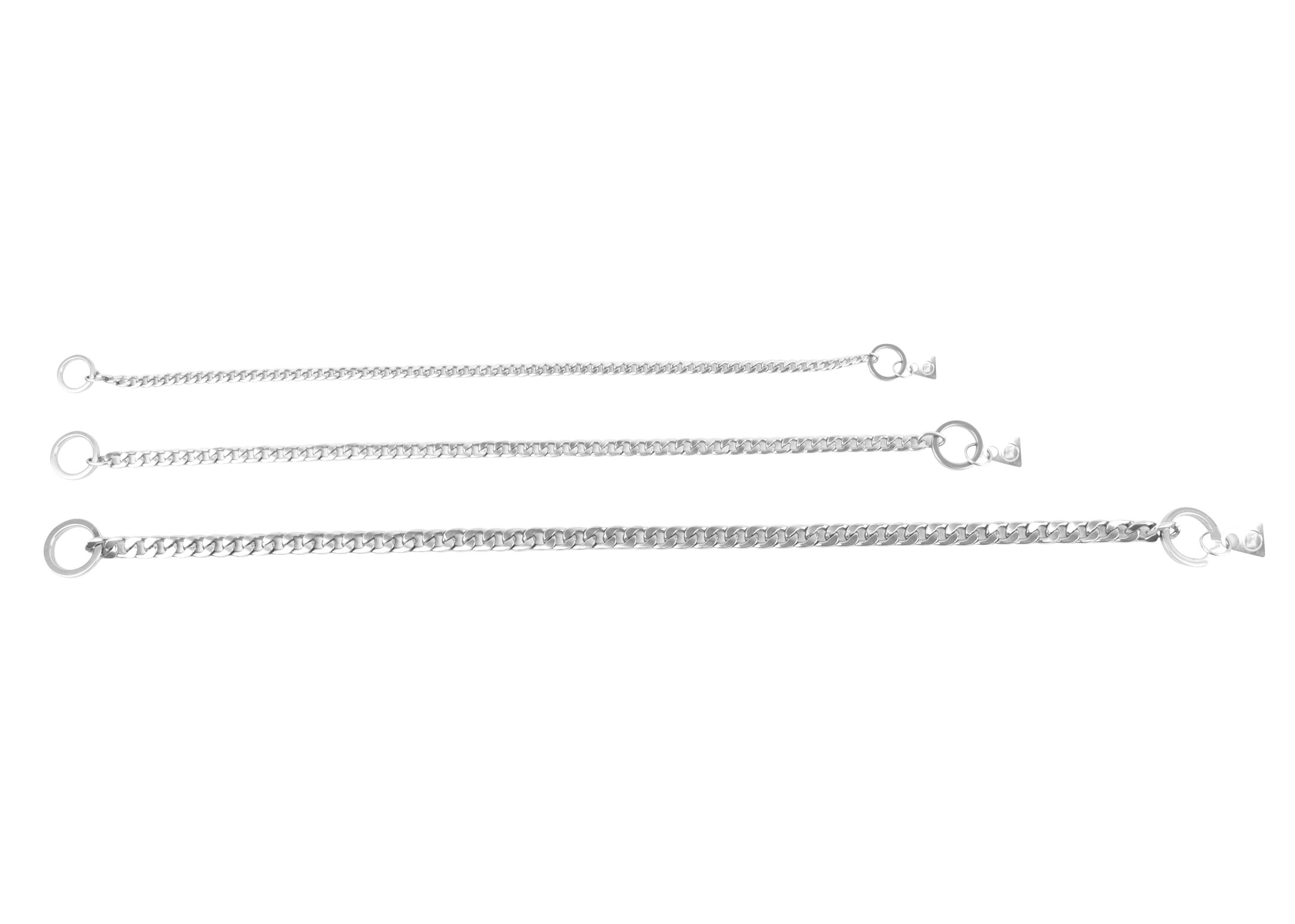 Show Tech+ Flat Link Show Chain Stainless Steel 40cmx7mm Show Chain