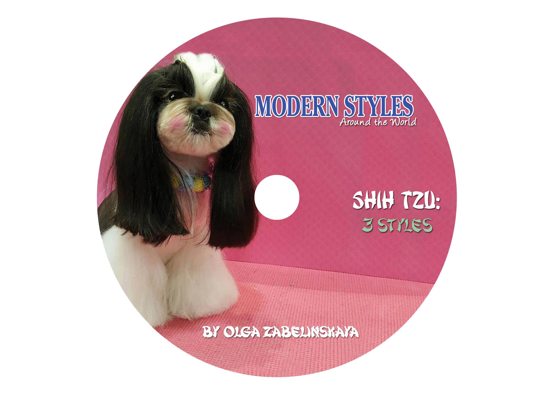 DVD Shih Tzu Modern Styles around the World