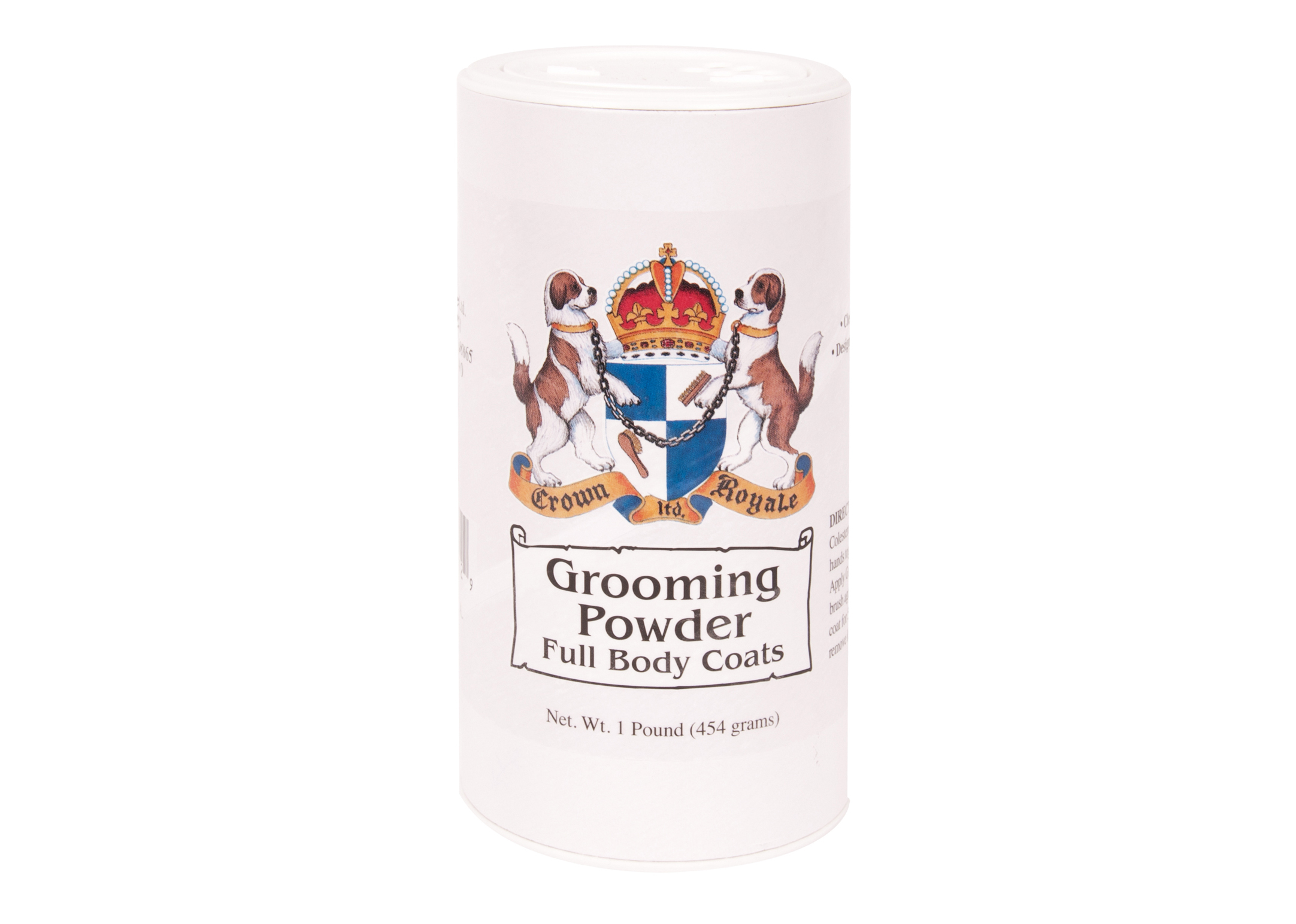Crown Royale Grooming Powder Full Body Coats 450 gr Kalk