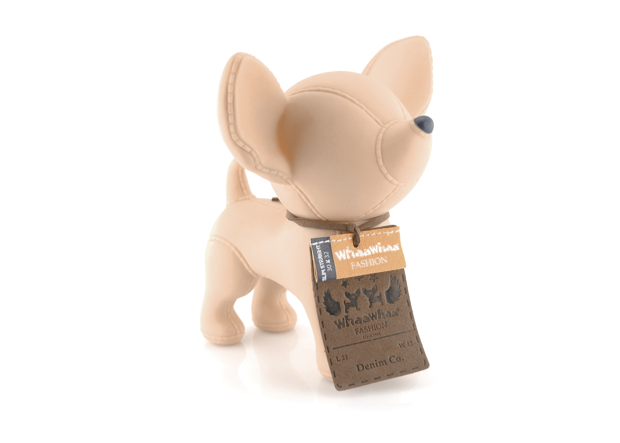 Whaa Whaa Doggybank Chihuahua Denim Money-Box