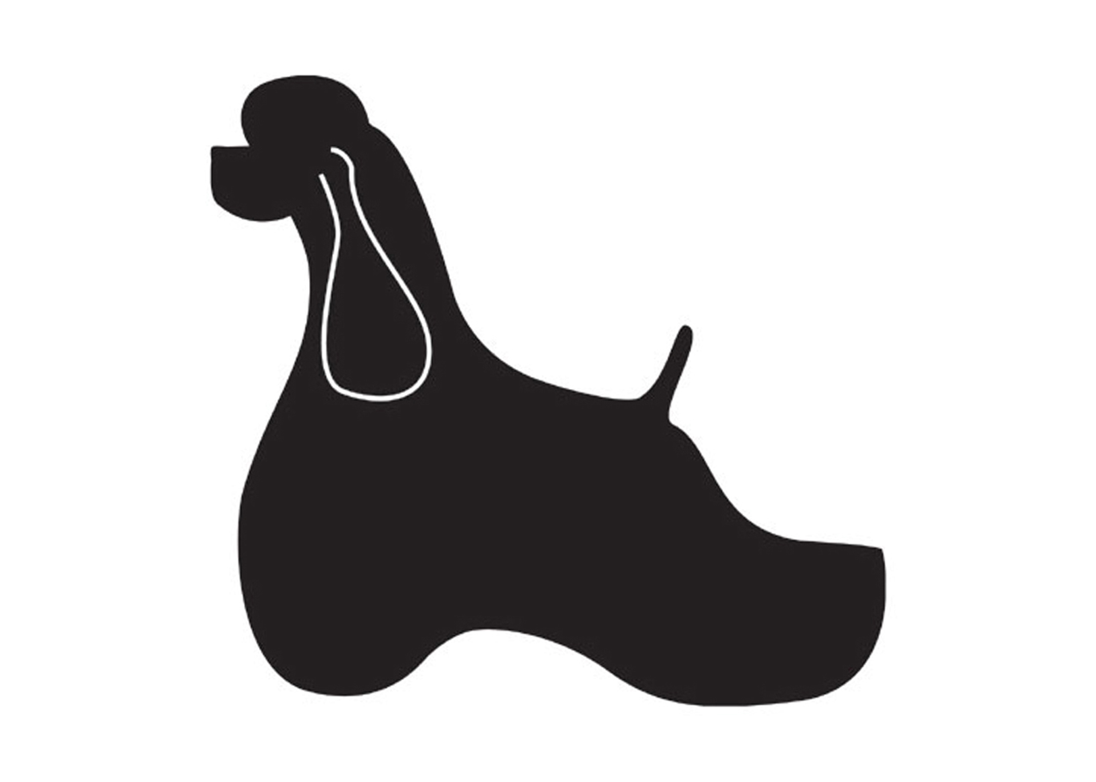 K-design American Cocker Sticker For Groomers
