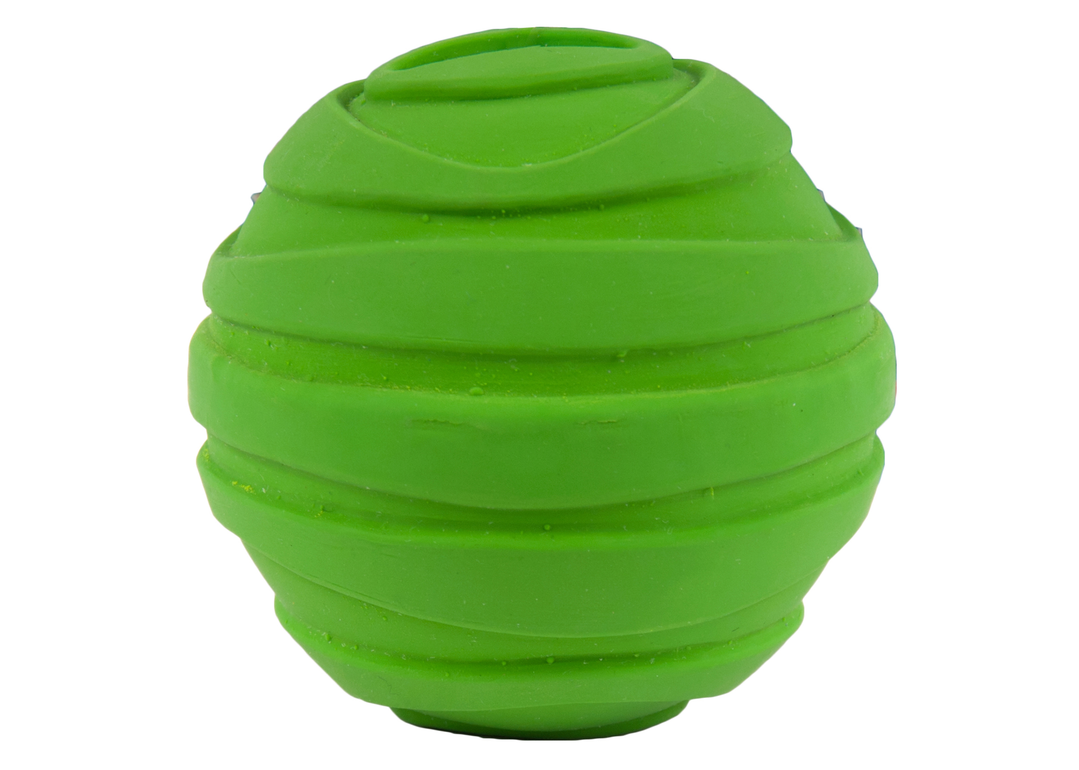 Chuckle City Squeaky Latex Ball 7,5cm Green Toys
