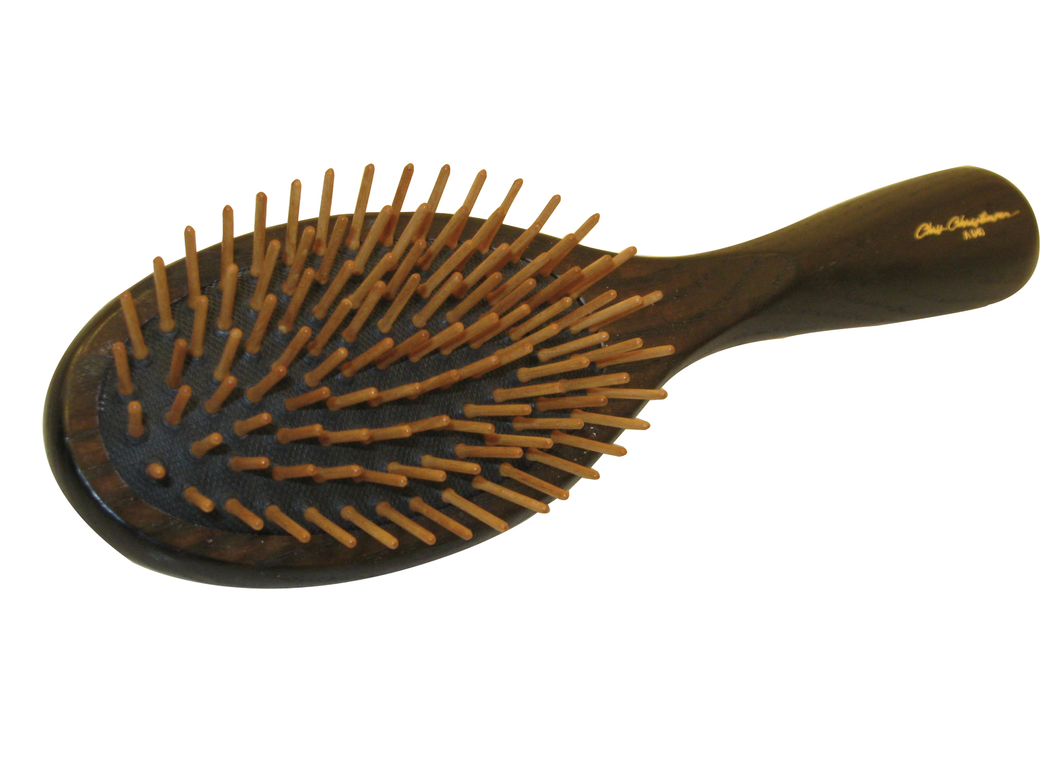 Chris Christensen Systems Oval Wood Pin Brush For Dogs
