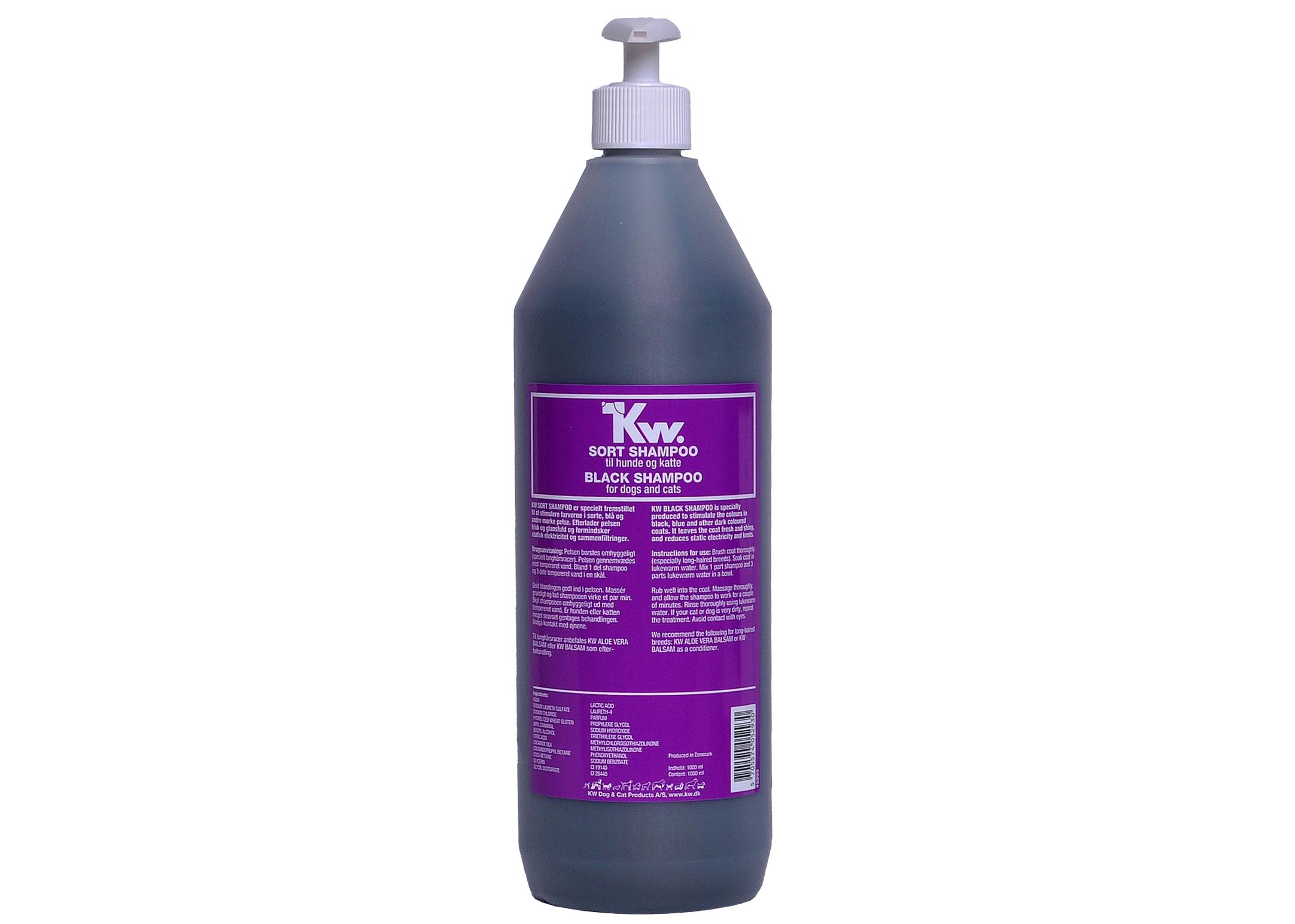KW Black Shampoo 1L