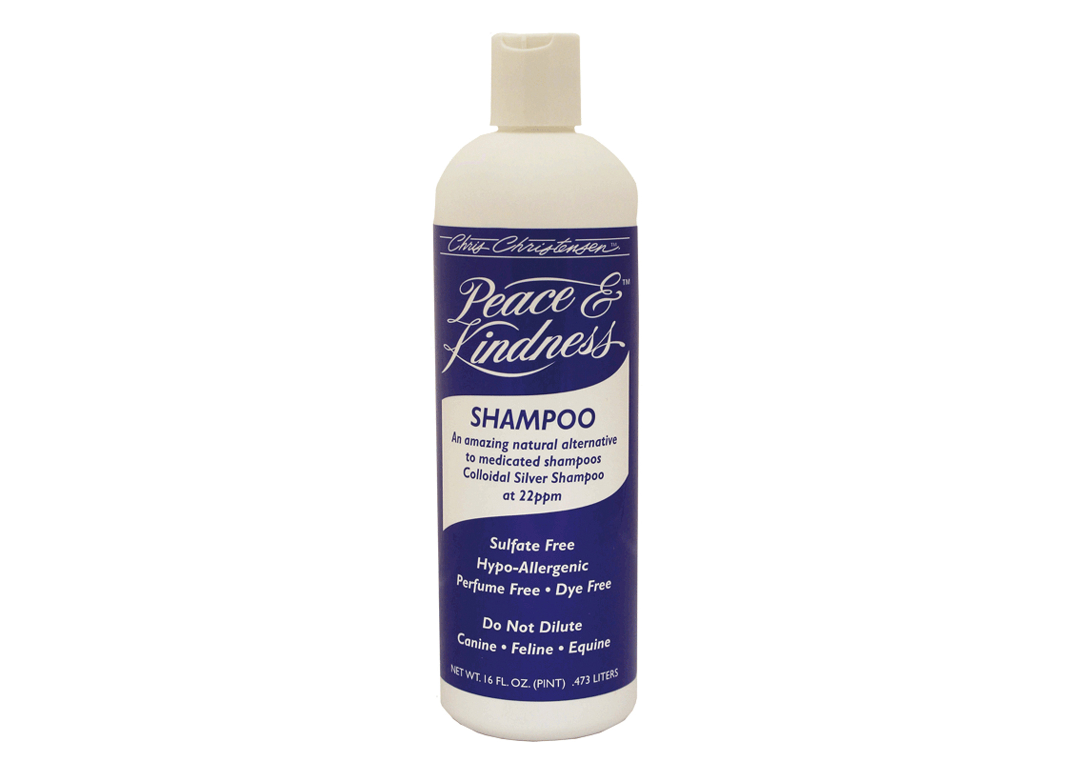 Chris Christensen Systems Peace & Kindness Colloidal Silver Shampoo