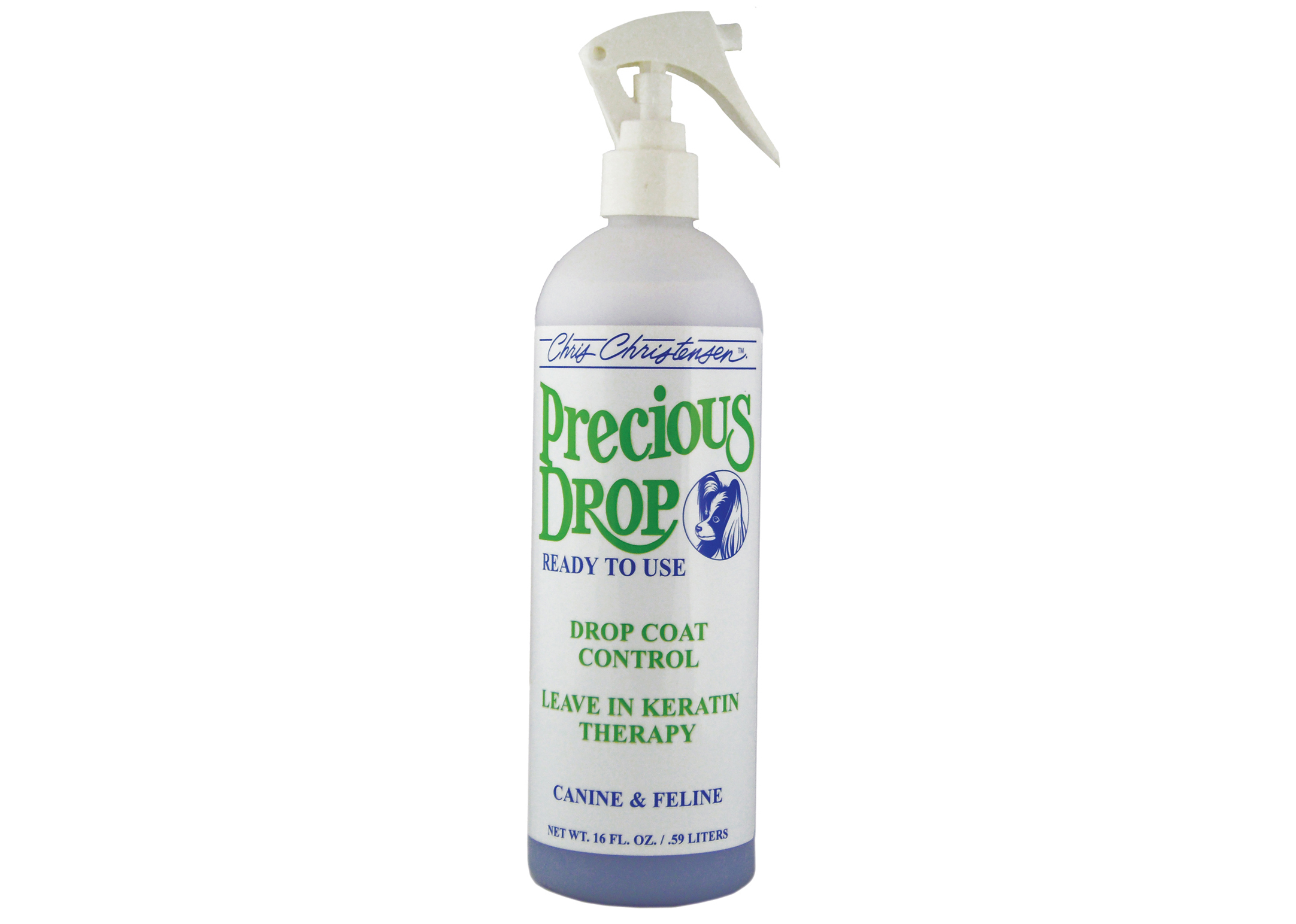 Chris Christensen Systems Precious Drops Concentrate Drop Coat Control For Dogs, Cats And Horses