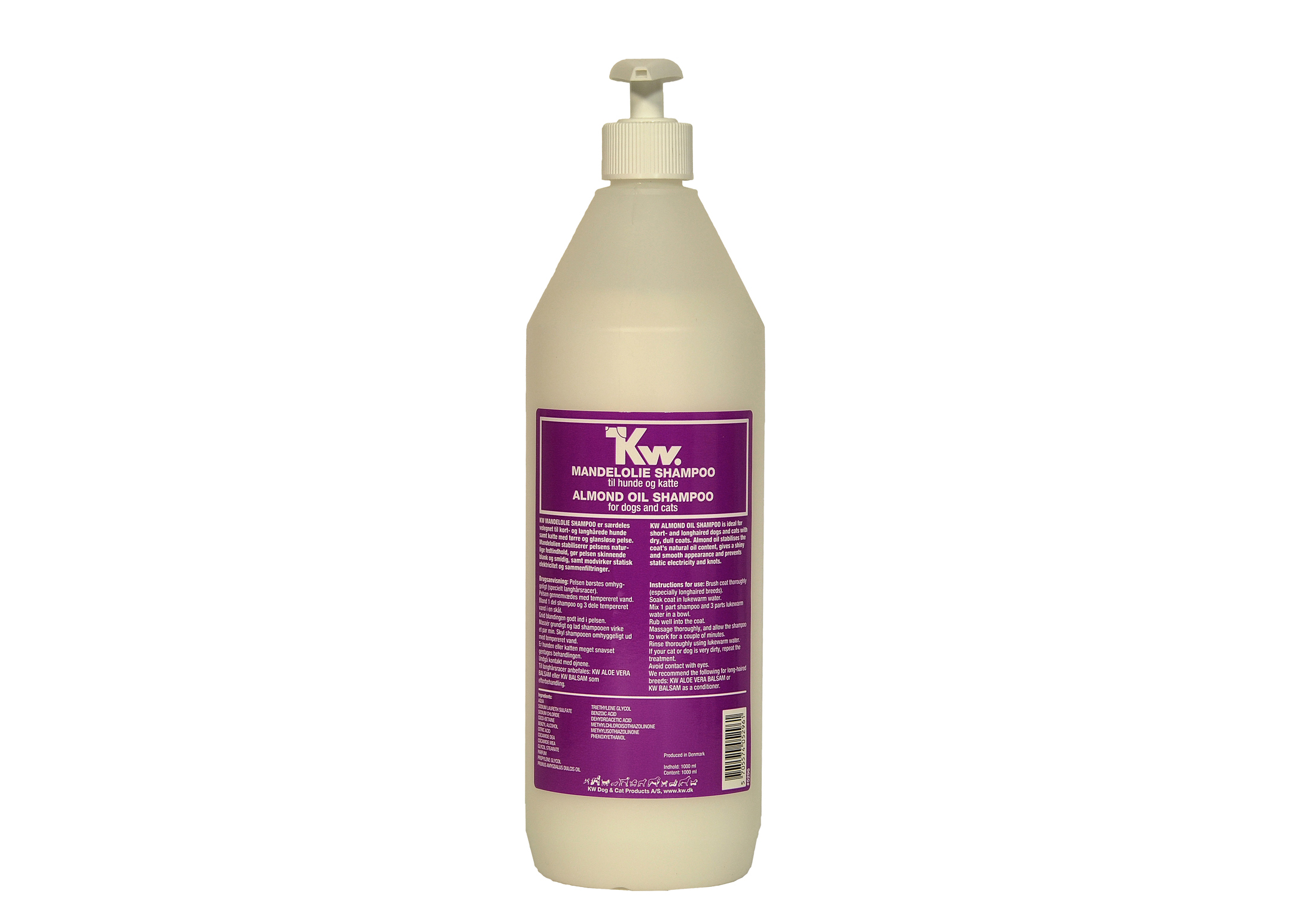 KW Almond Oil Shampooing 1L