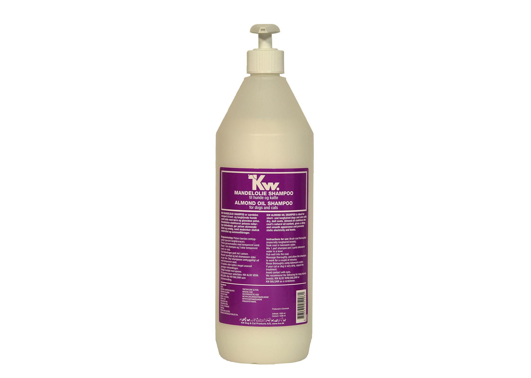 KW Almond Oil Shampoo 1L