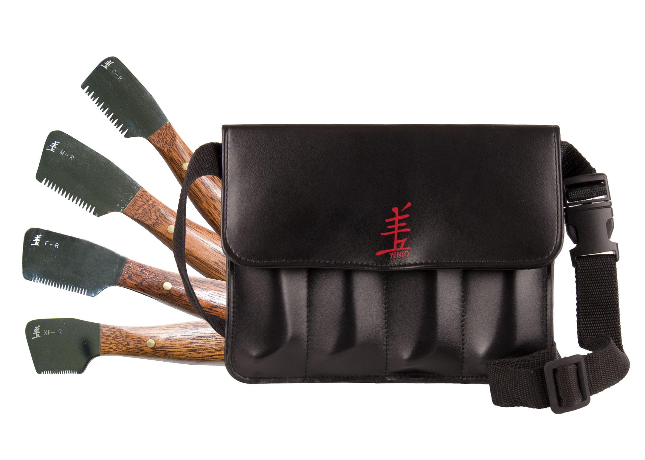 Yento Pro Couteaux à Trimmer Set de 4pcs Trimmer Pour Chiens