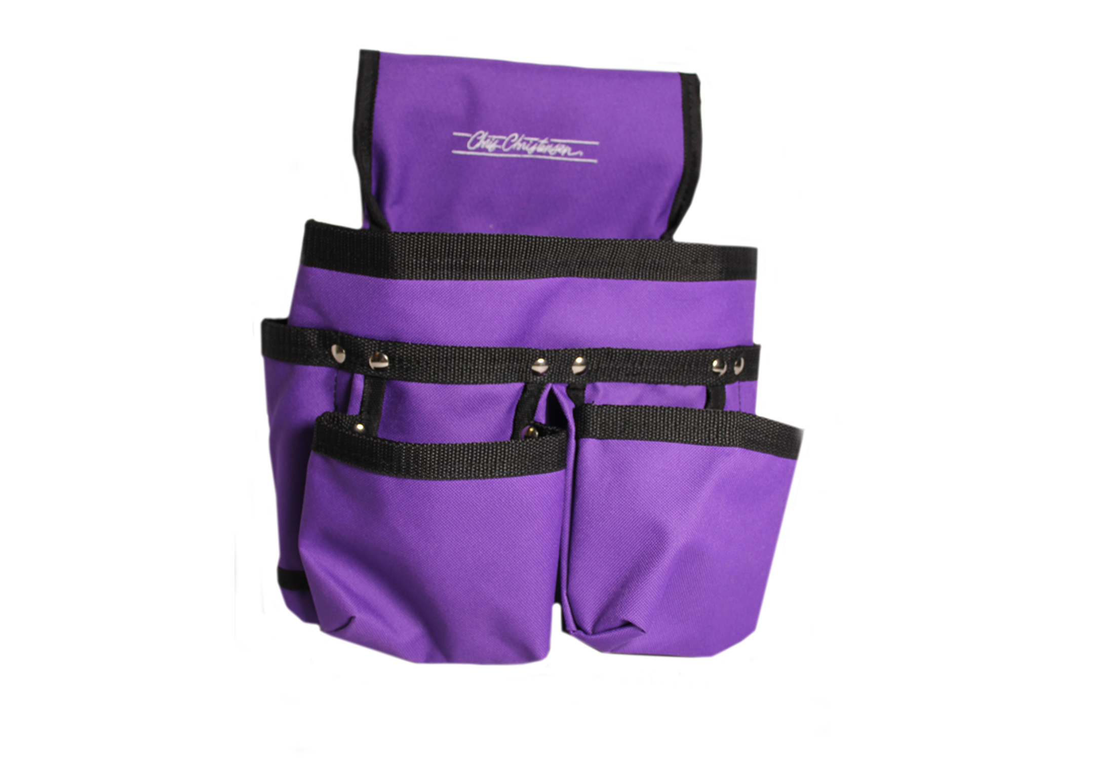 Chris Christensen Systems Large Grooming Tote Purple Travel Case
