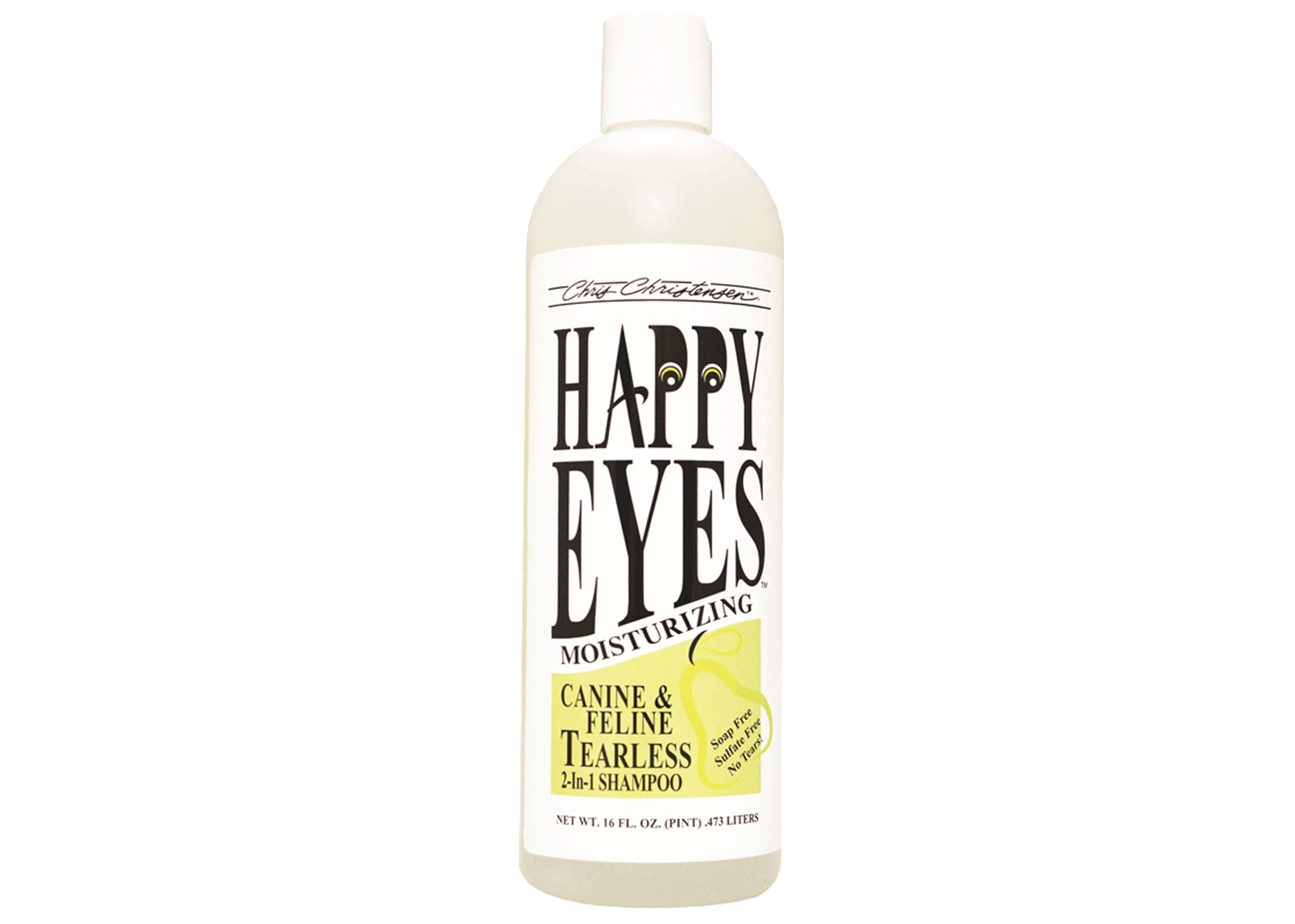 Chris Christensen Systems Happy Eyes Tearless Shampoo For Dogs, Cats And Horses