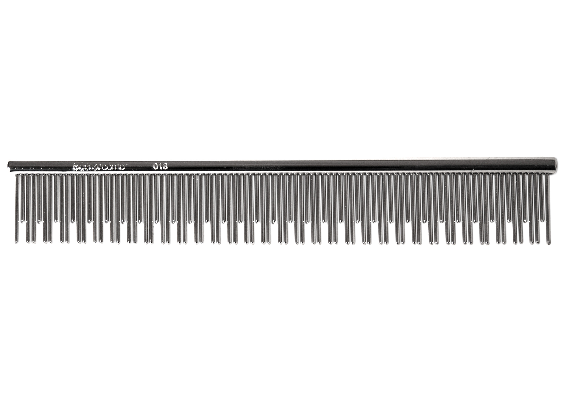 Chris Christensen Systems Cat-Carding 0013 Fine-Dualt Tooth 15cm Comb