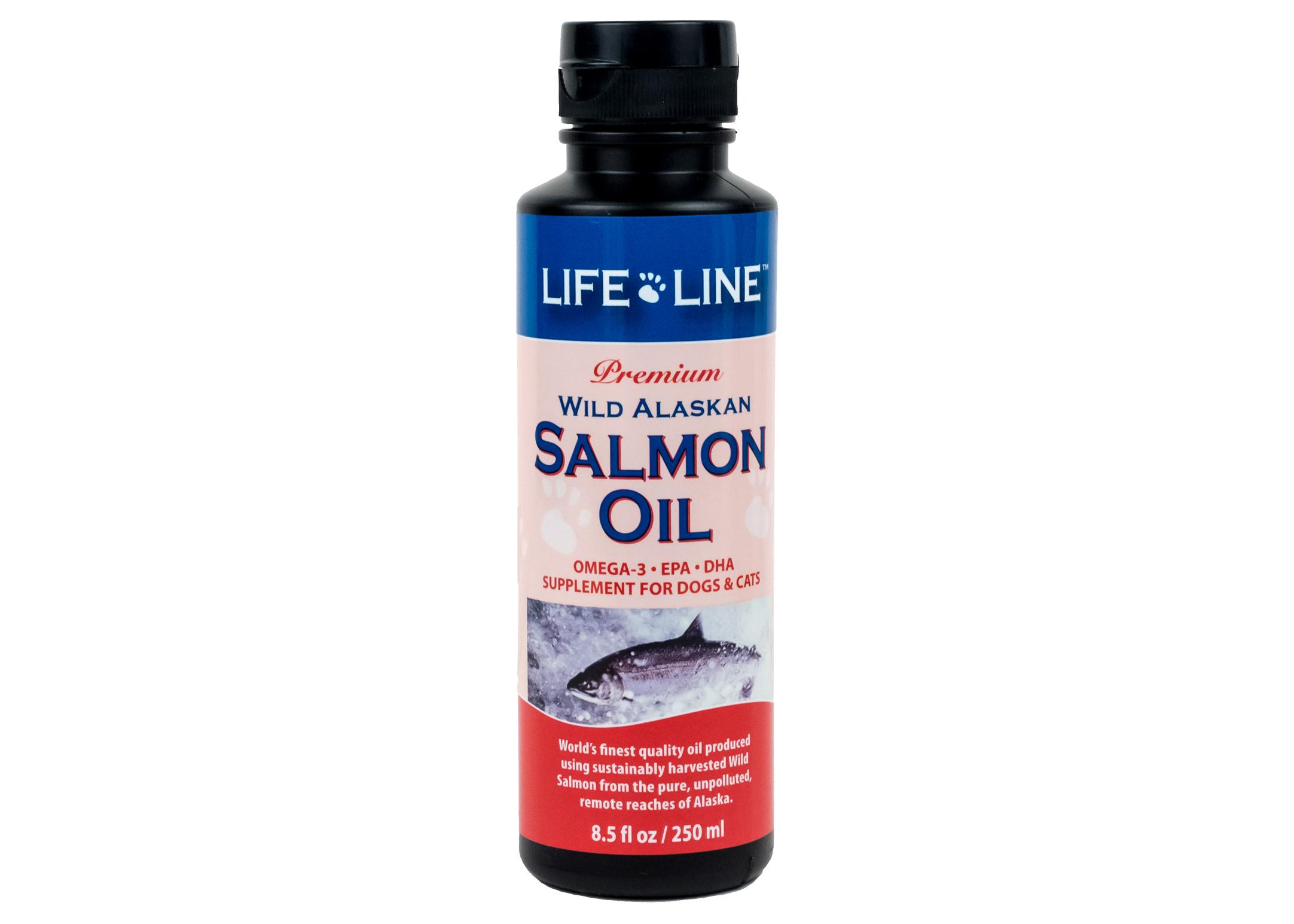 Life Line Wild Alaskan huile de saumon 250g