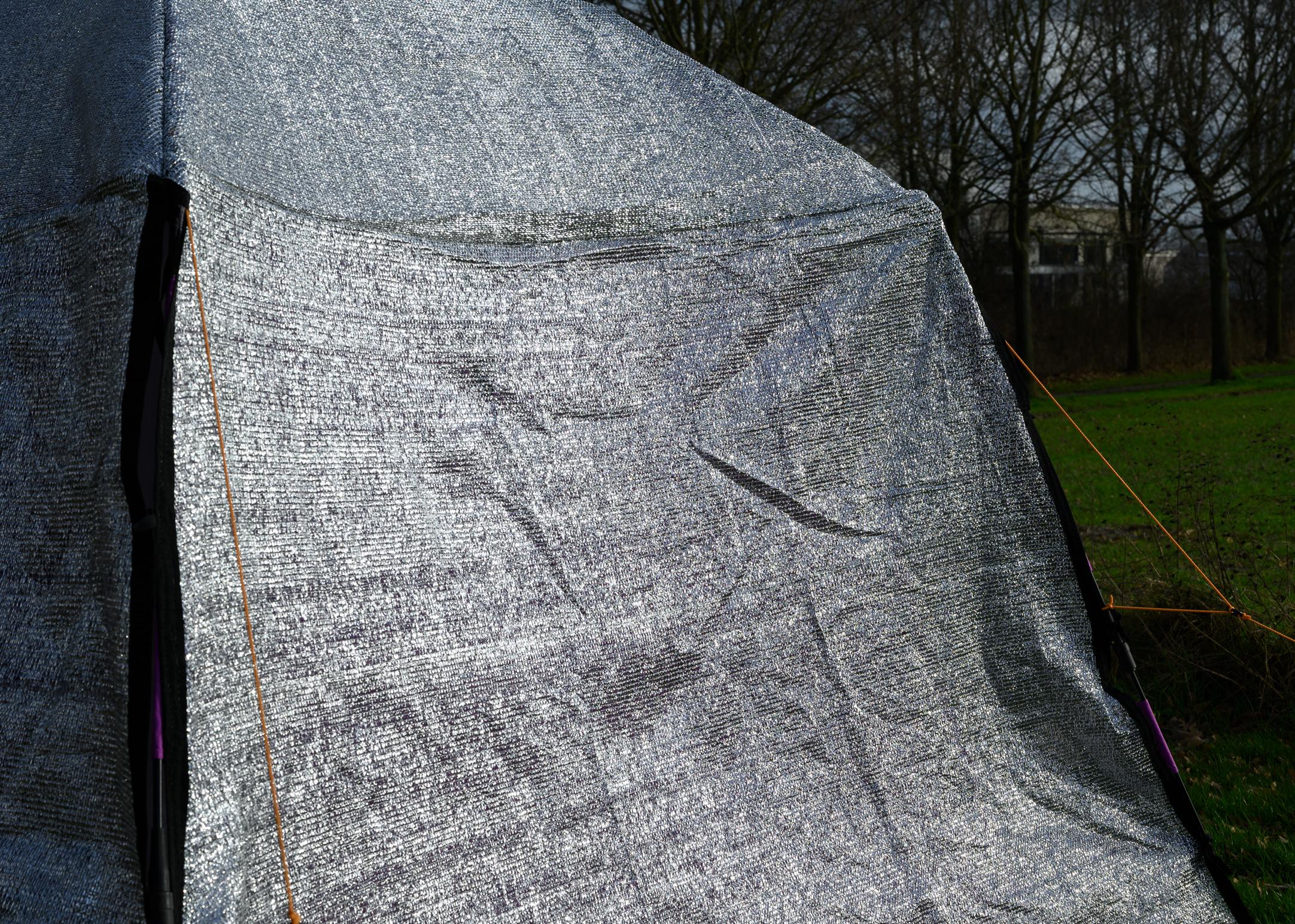 Travel Aluminium Shade Cover for Tent 300x300cm