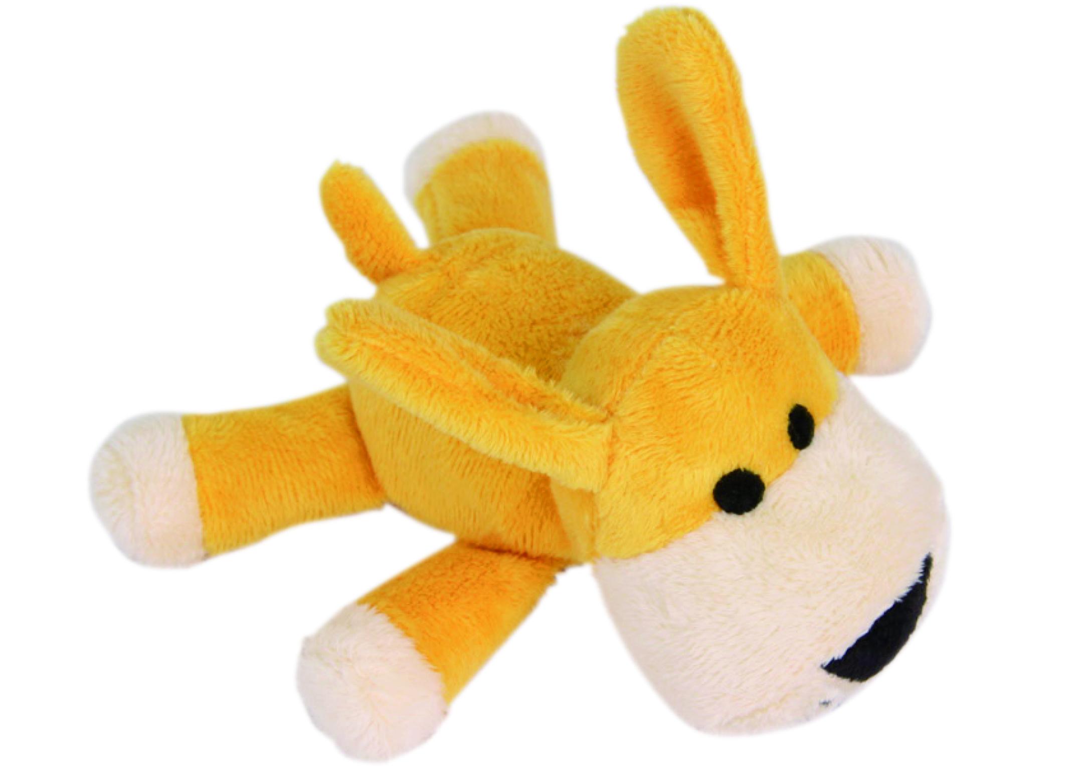Chuckle City Pluche Speelgoed met Pieper Hond Gemengde Kleuren 15 cm