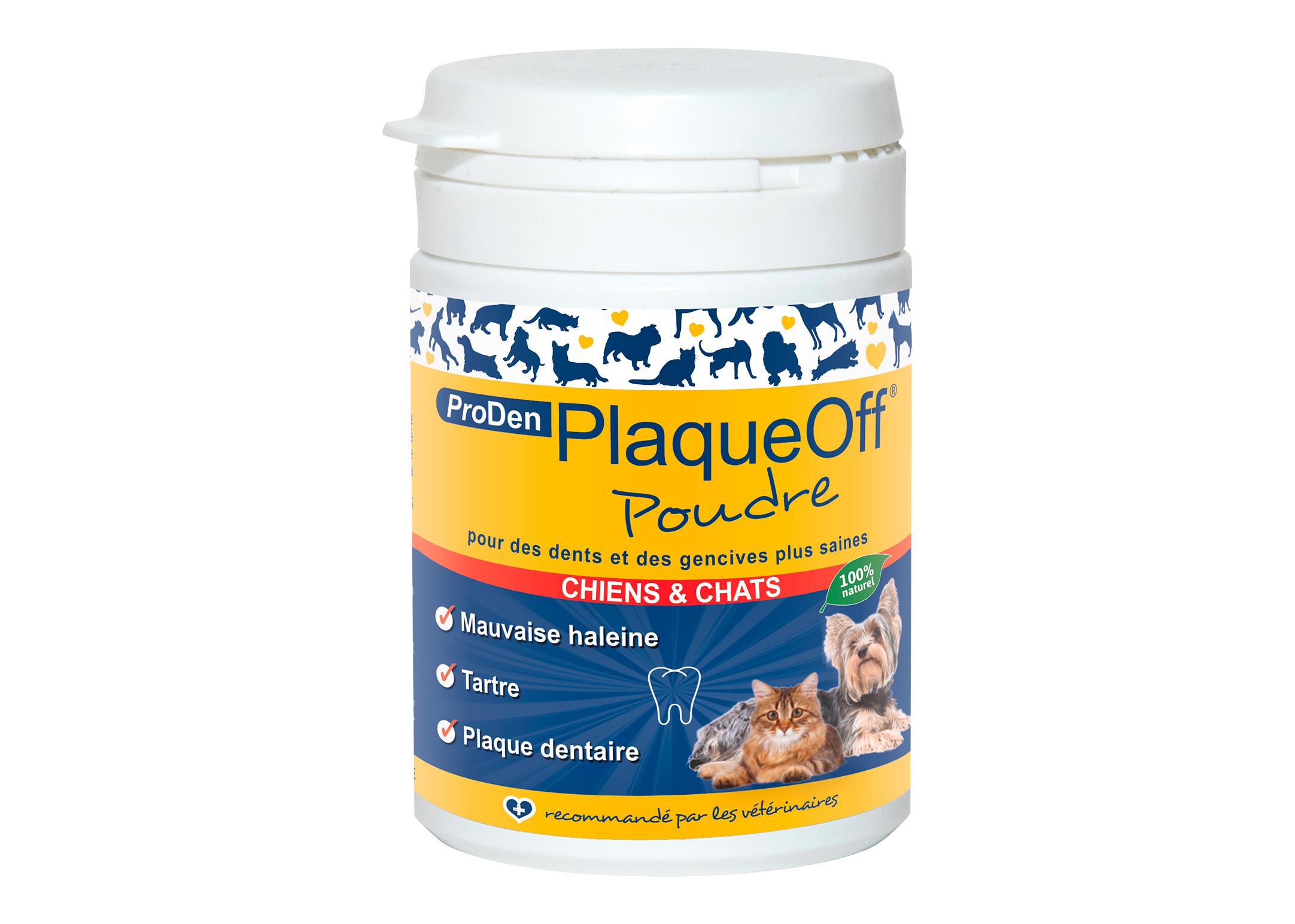 PlaqueOff Powder 40gr Teeth Cleaning Product