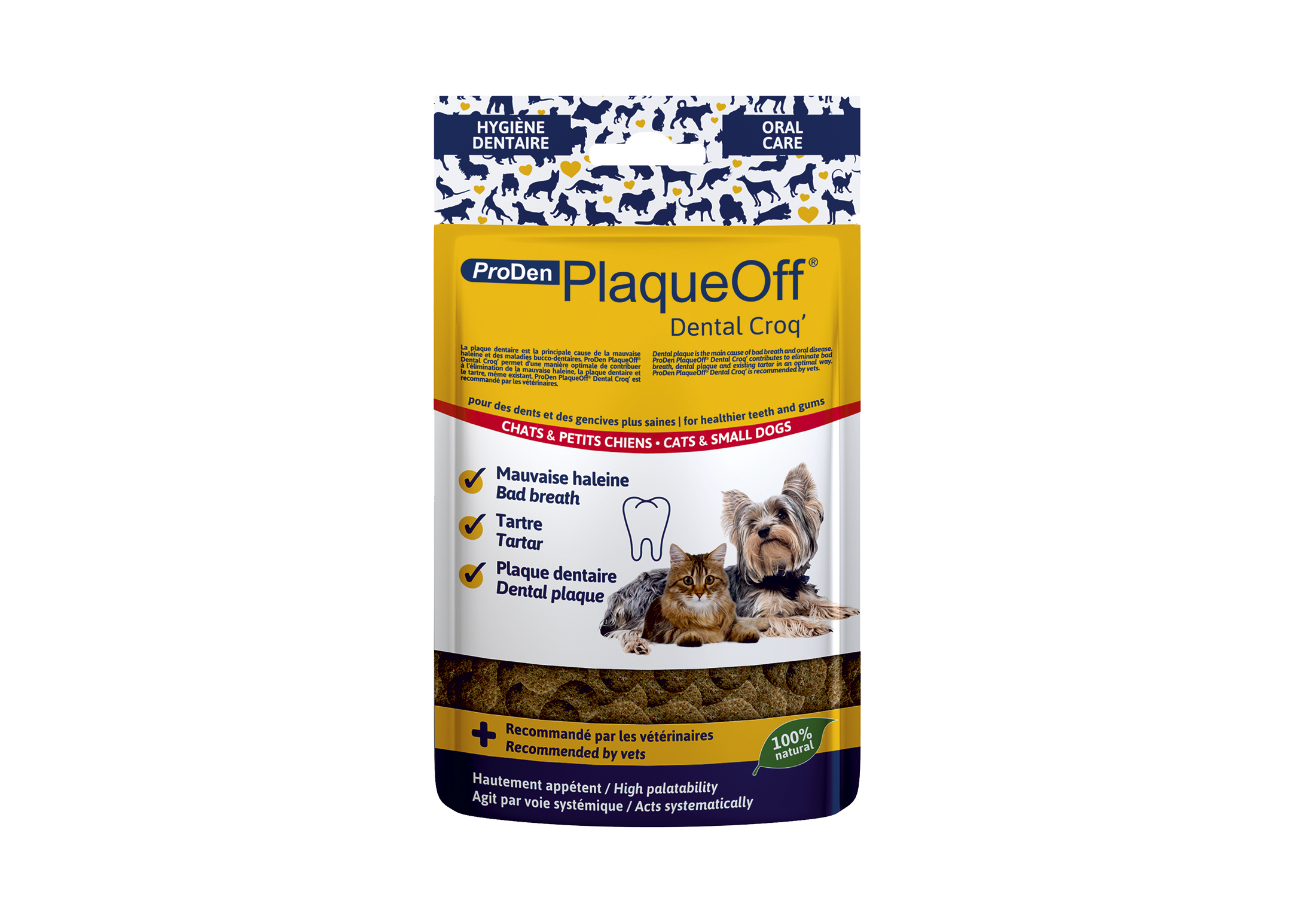 PlaqueOff Dental Croq' 60gr Teeth Cleaning Product