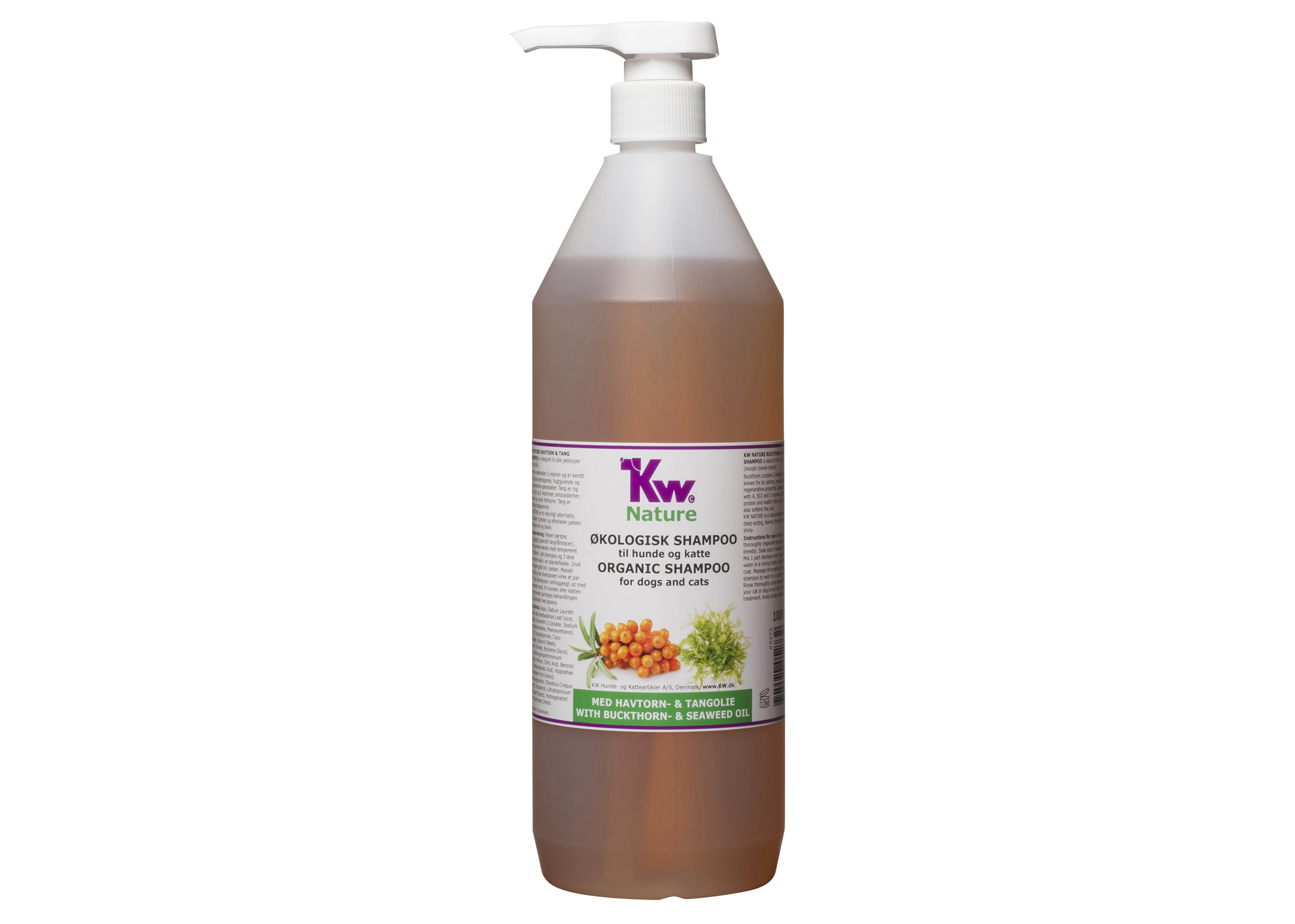 KW Nature Buckthorn & Seaweed Oil Shampooing 1L