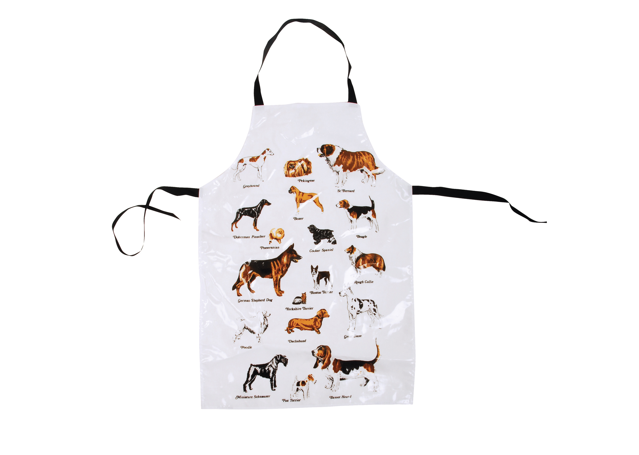 Show Tech Apron Waterproof Breeds White