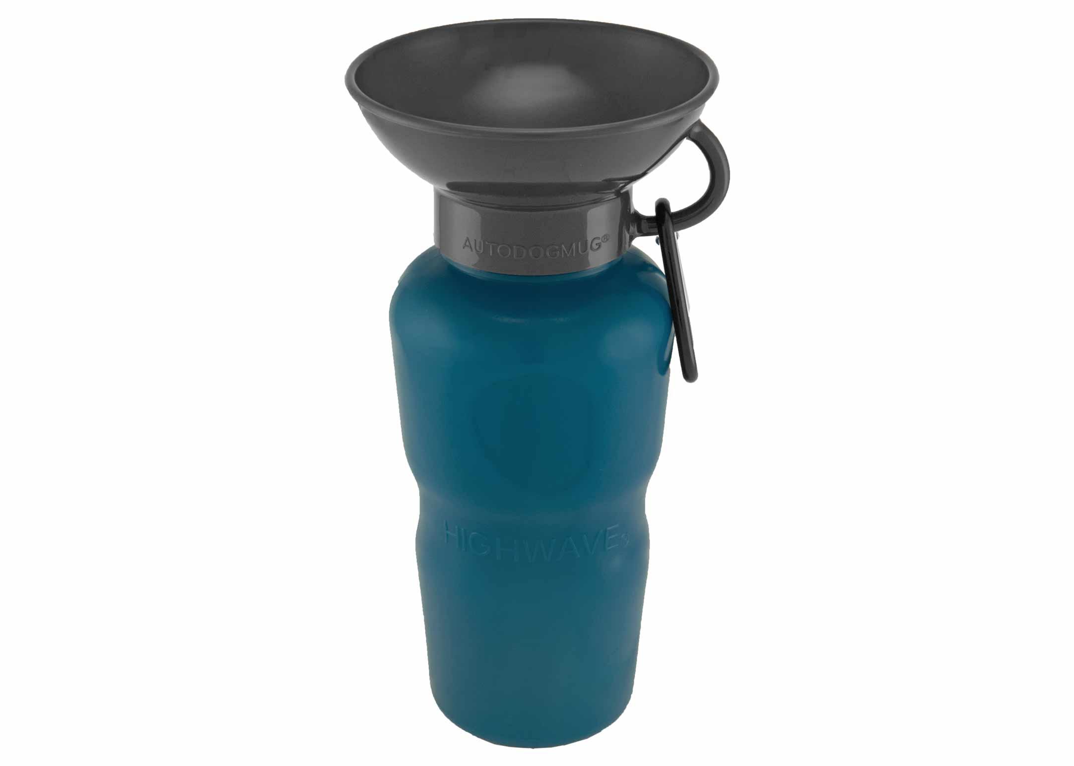 Highwave Auto Dog Mug Leaktight Pacific Blue 650ml Drinking Bottle