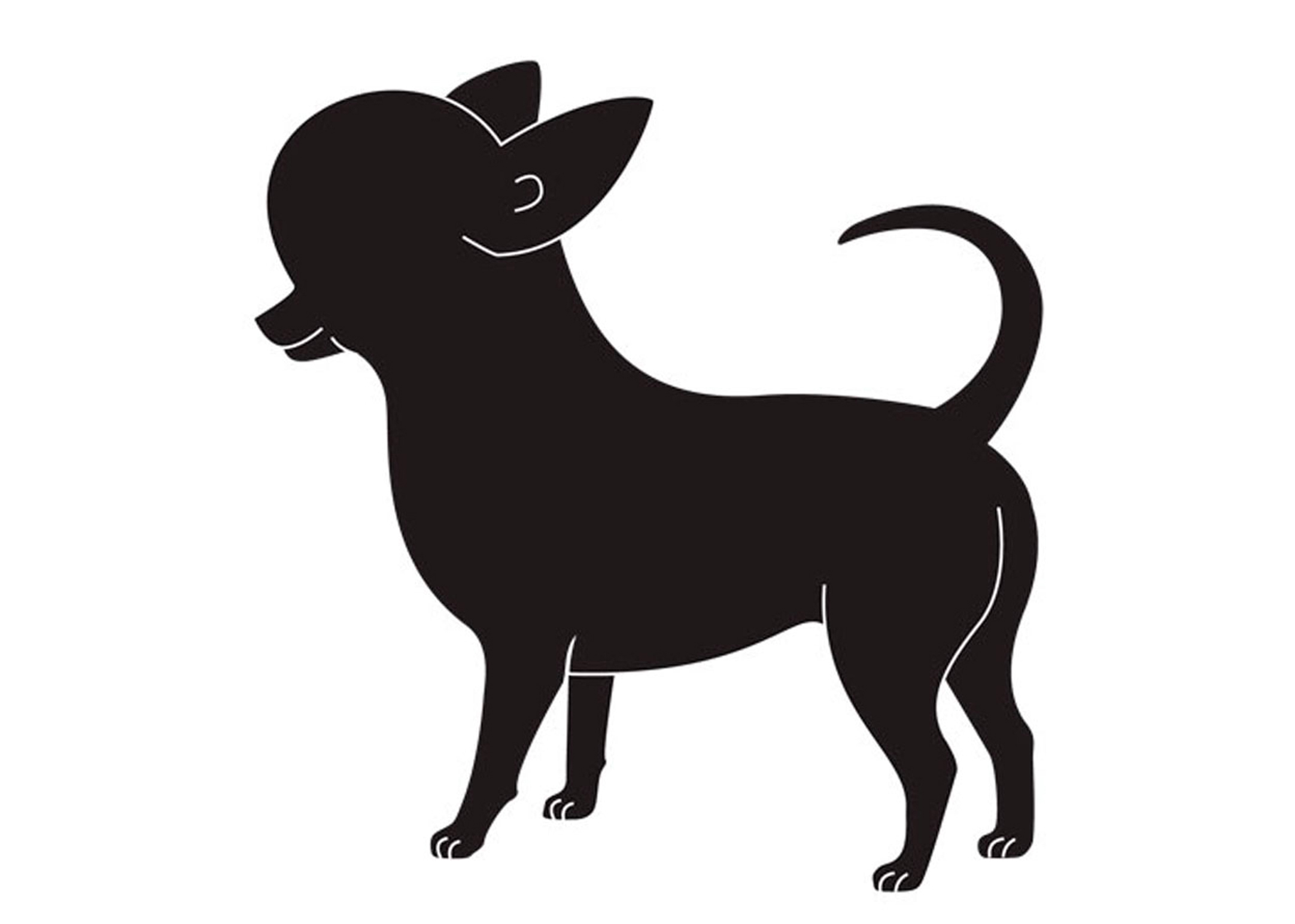 K-design Chihuahua Sticker For Groomers