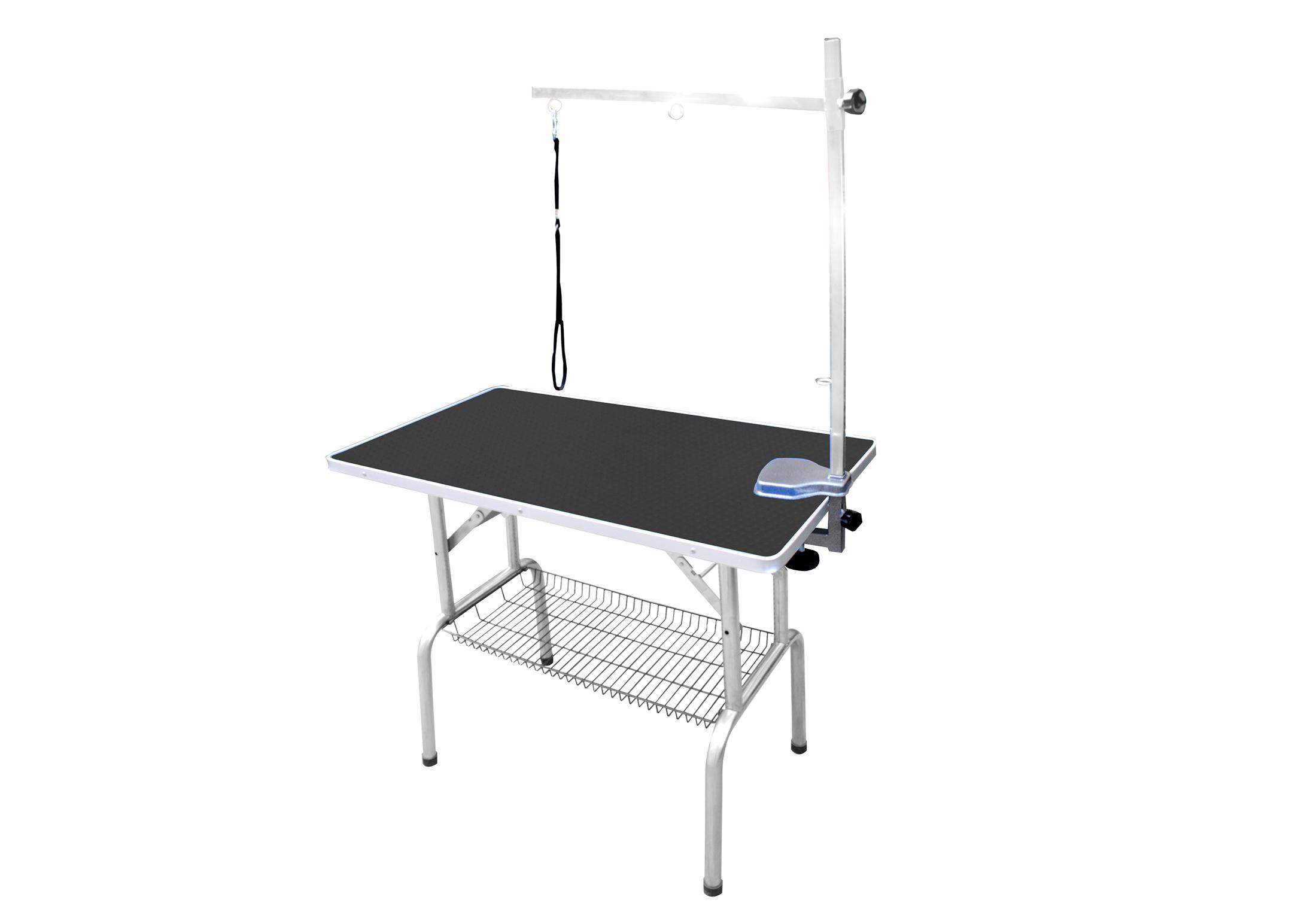 SS Grooming Table 95x55x78cmH Show Table