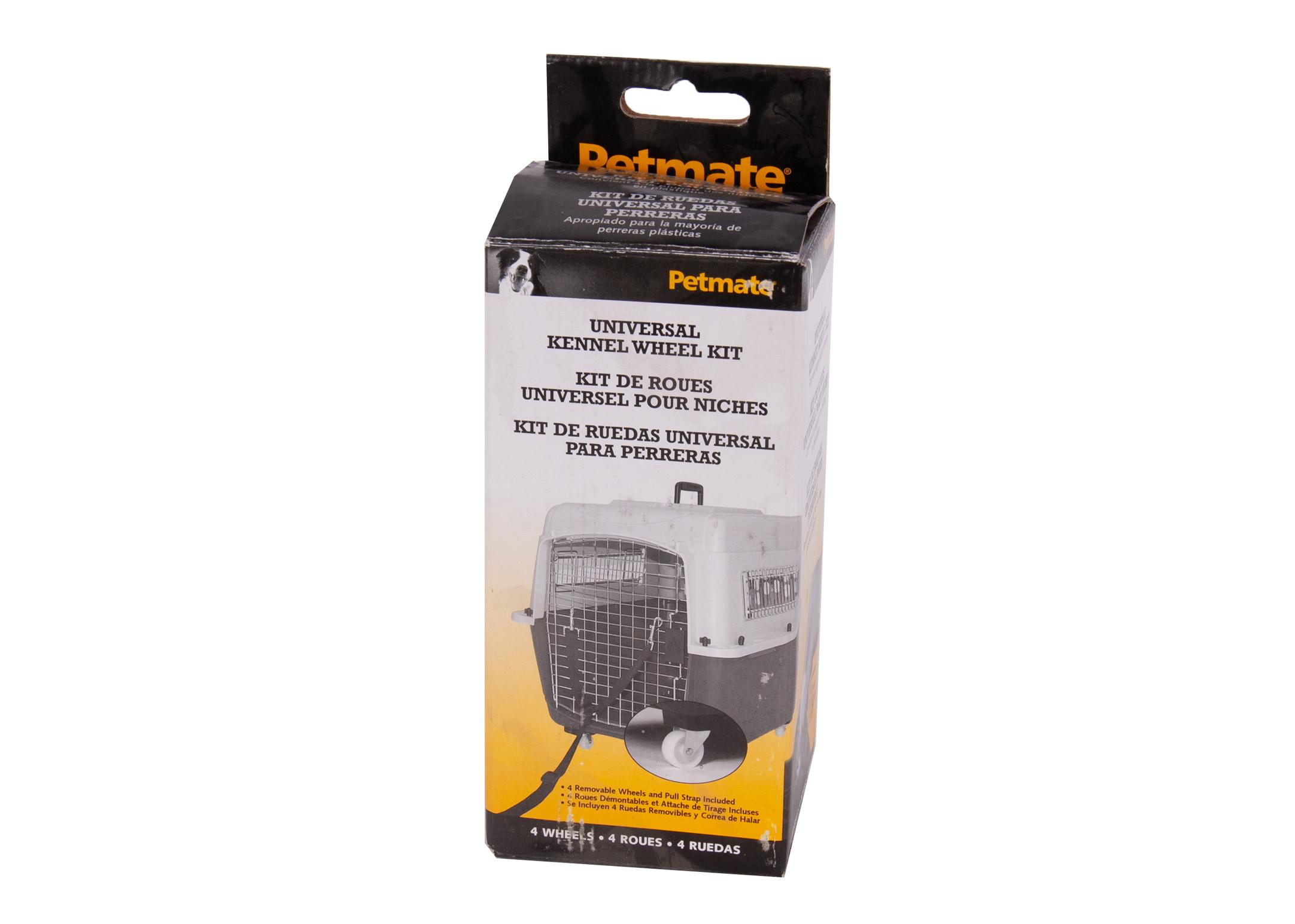 Petmate Vari Kennel Wheels (not for small-medium) Transportation Accessories