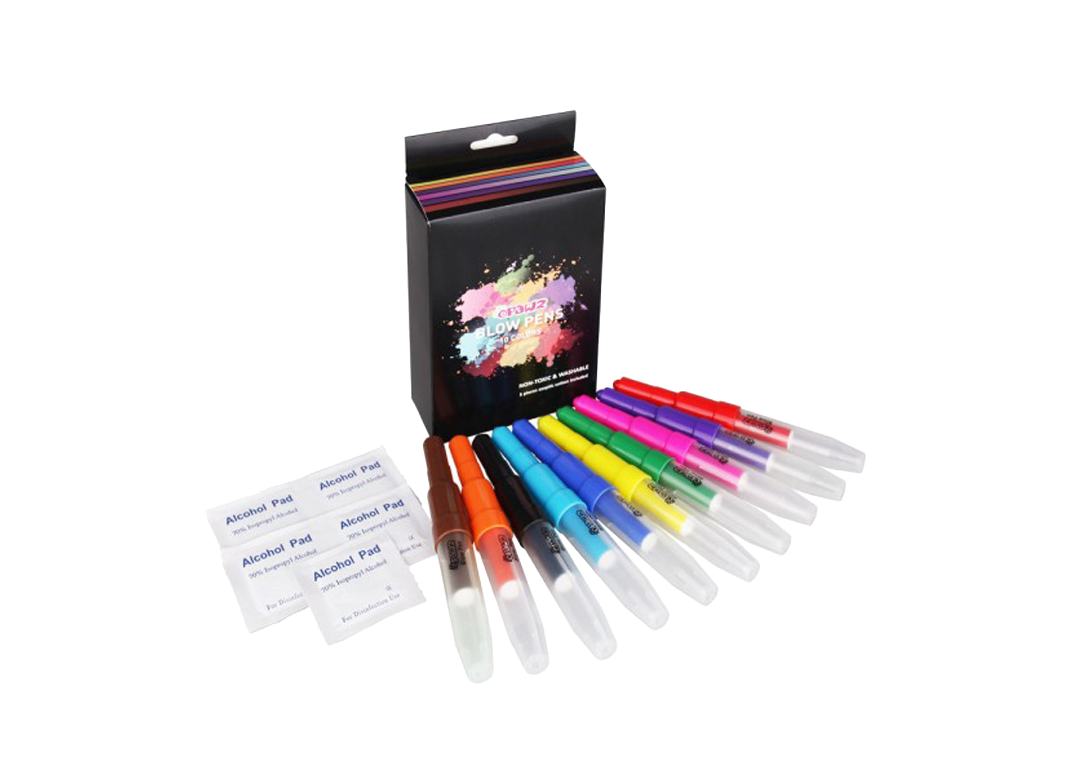 Opawz Blow Pen 10 pcs Crayons