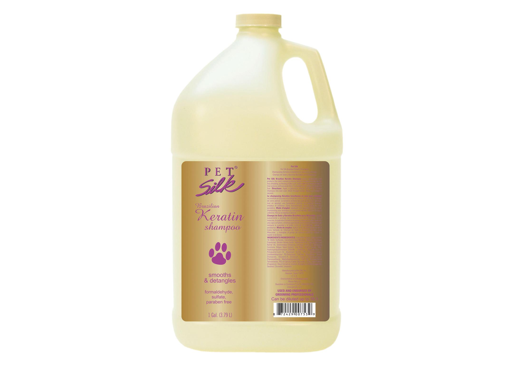 Pet Silk Brazilian Keratin 3,8 L Shampoo