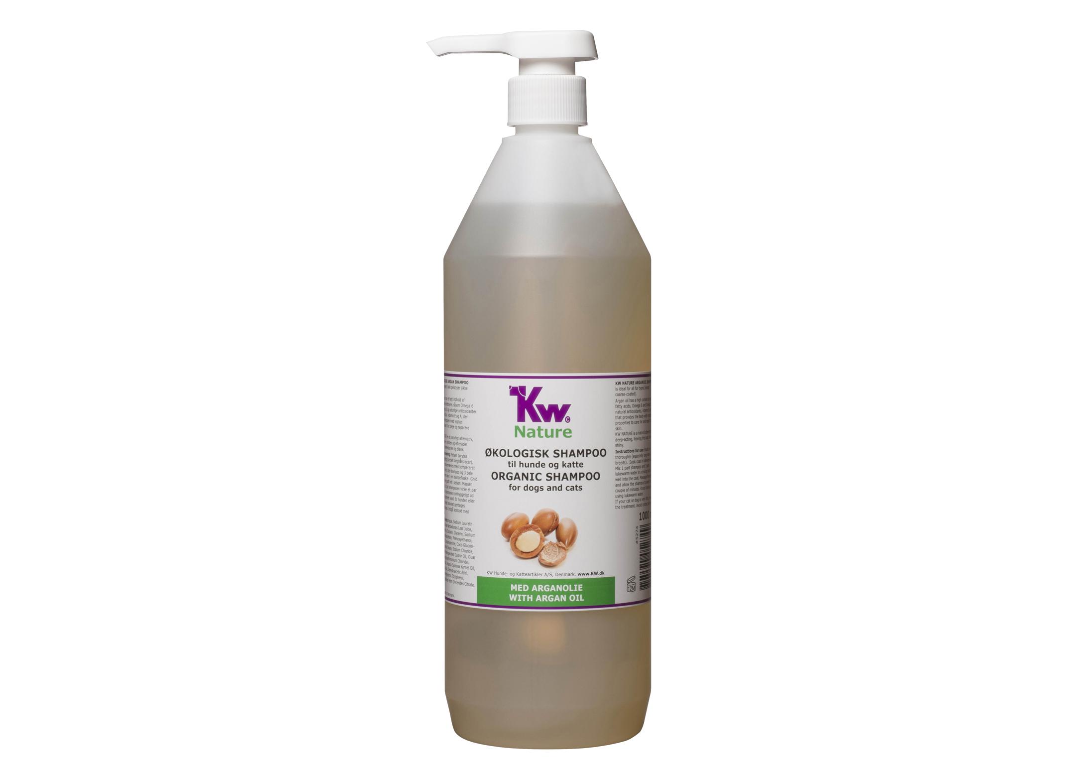 organisk shampoo