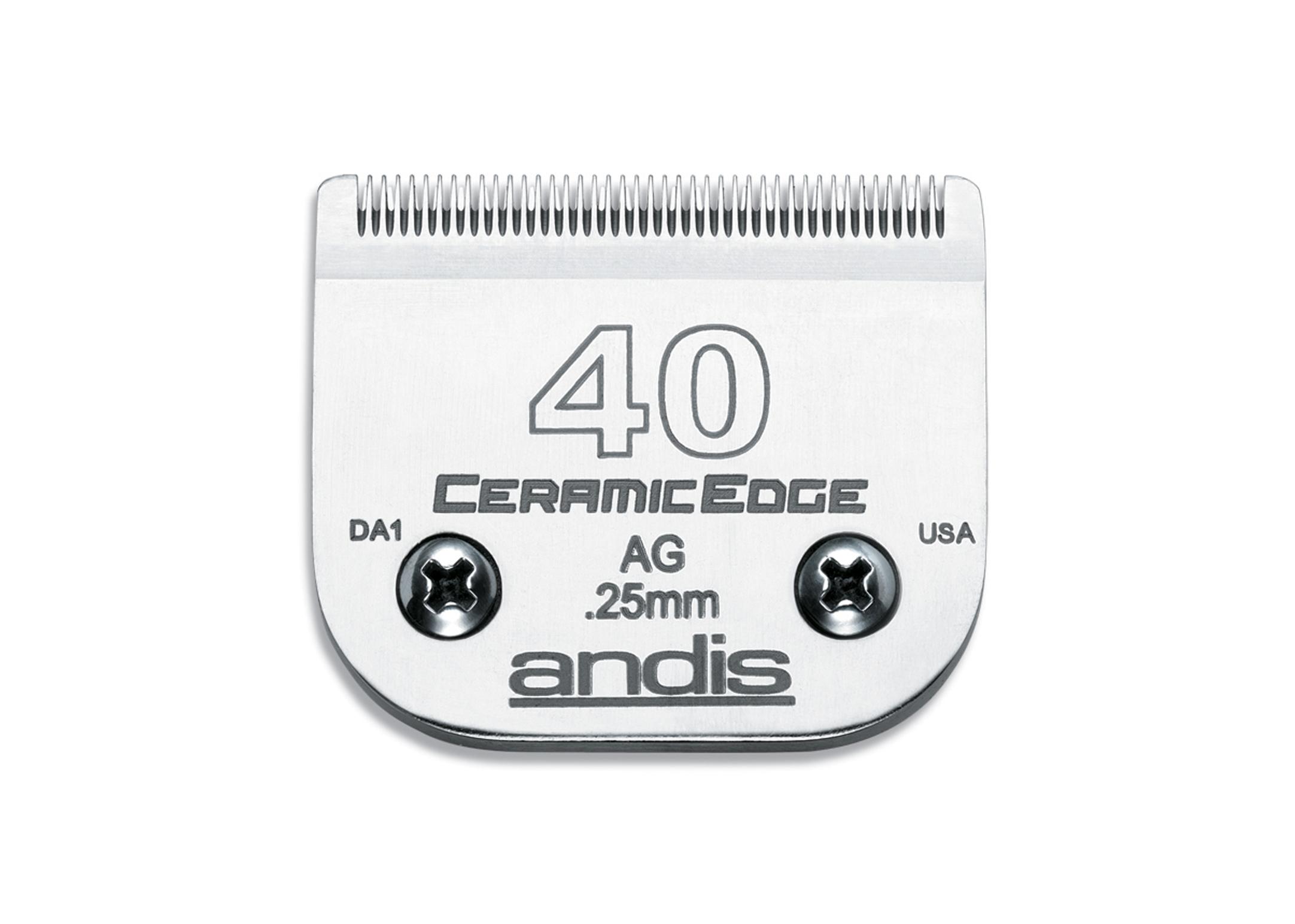 Andis Tête de Coupe Céramique #40 - 0,25 mm
