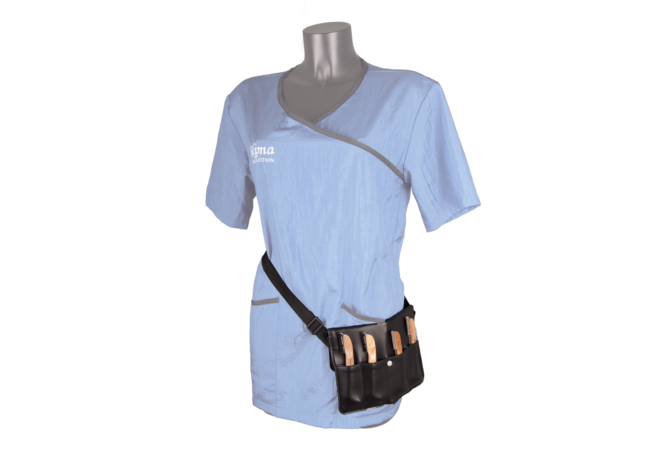 Show Tech Pouch for 4 Stripping Knives 23,5Bx17Hcm