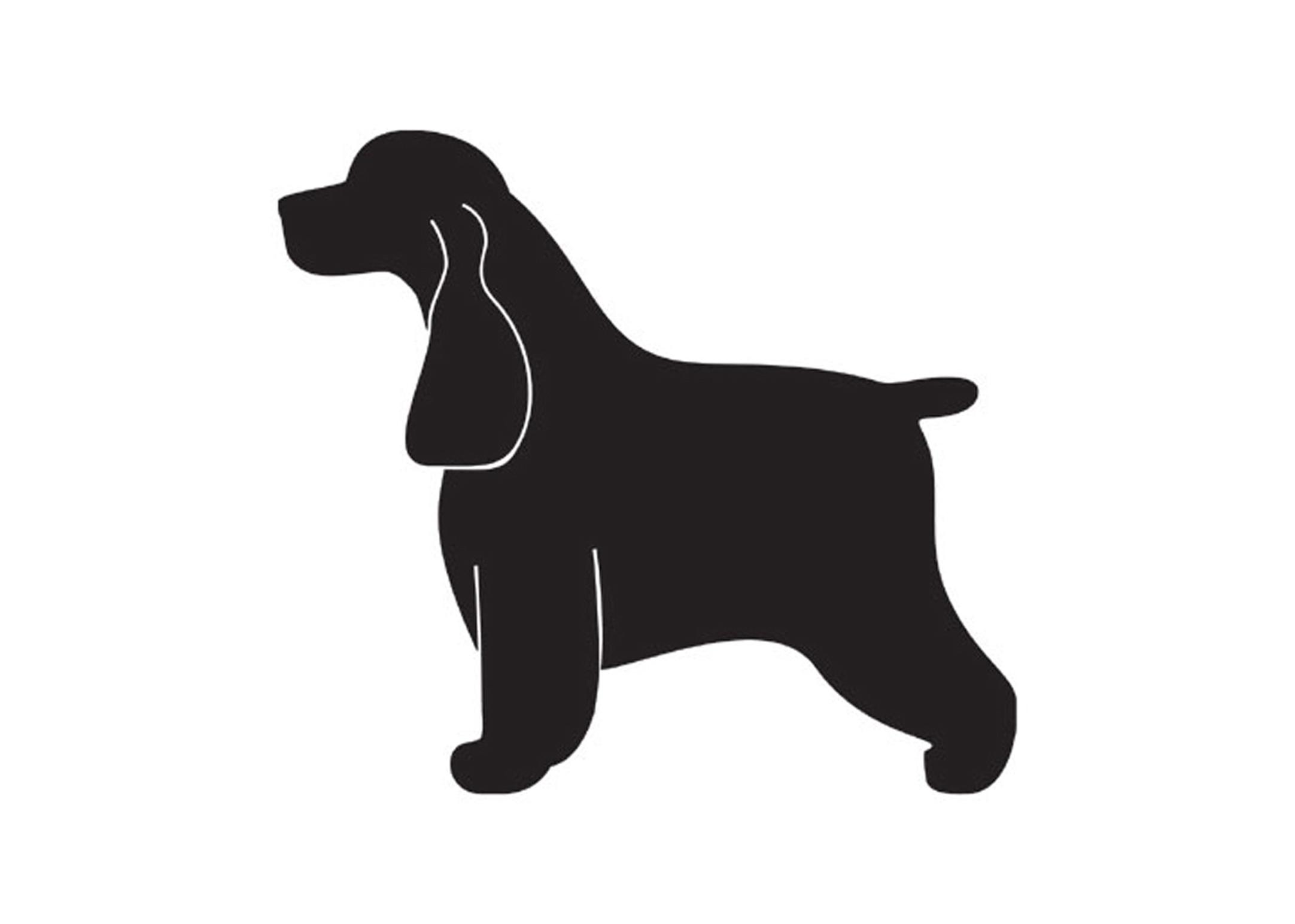 K-design English Cocker Sticker For Groomers