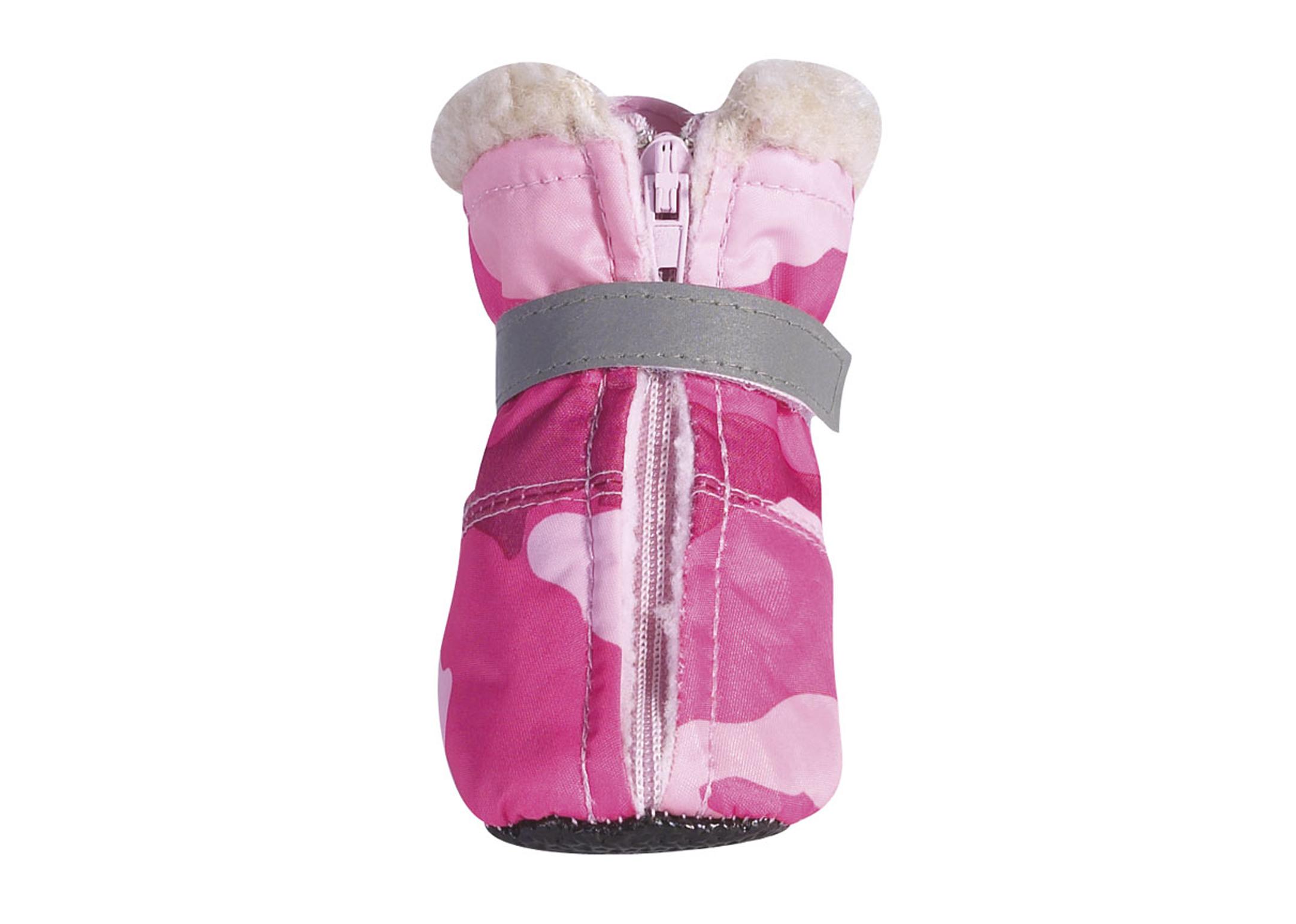 Zack & Zoe Camo Oxford Boots Pink L Attire