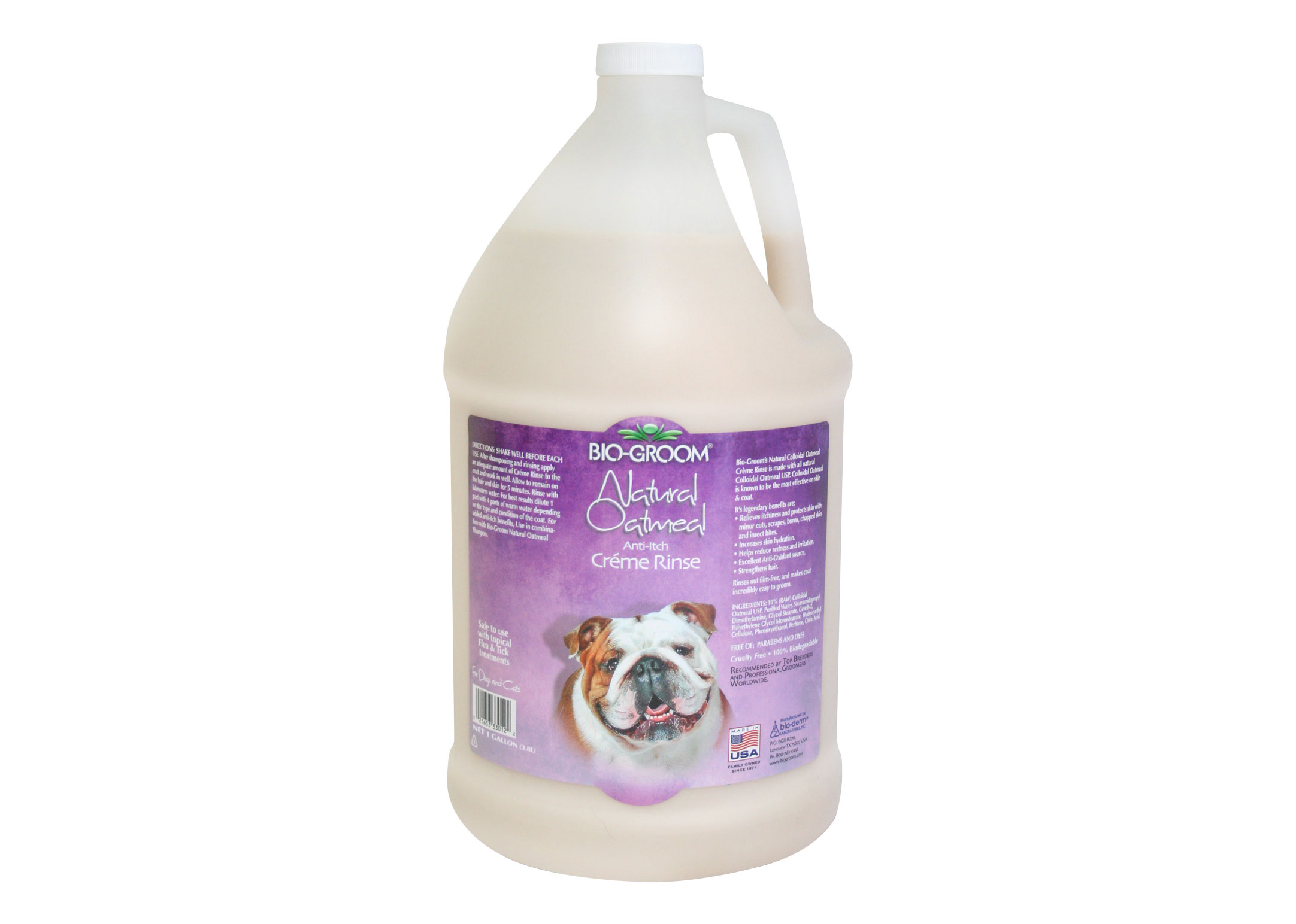 Bio Groom Natural Oatmeal Shampoo Voor Honden, Katten En Paarden