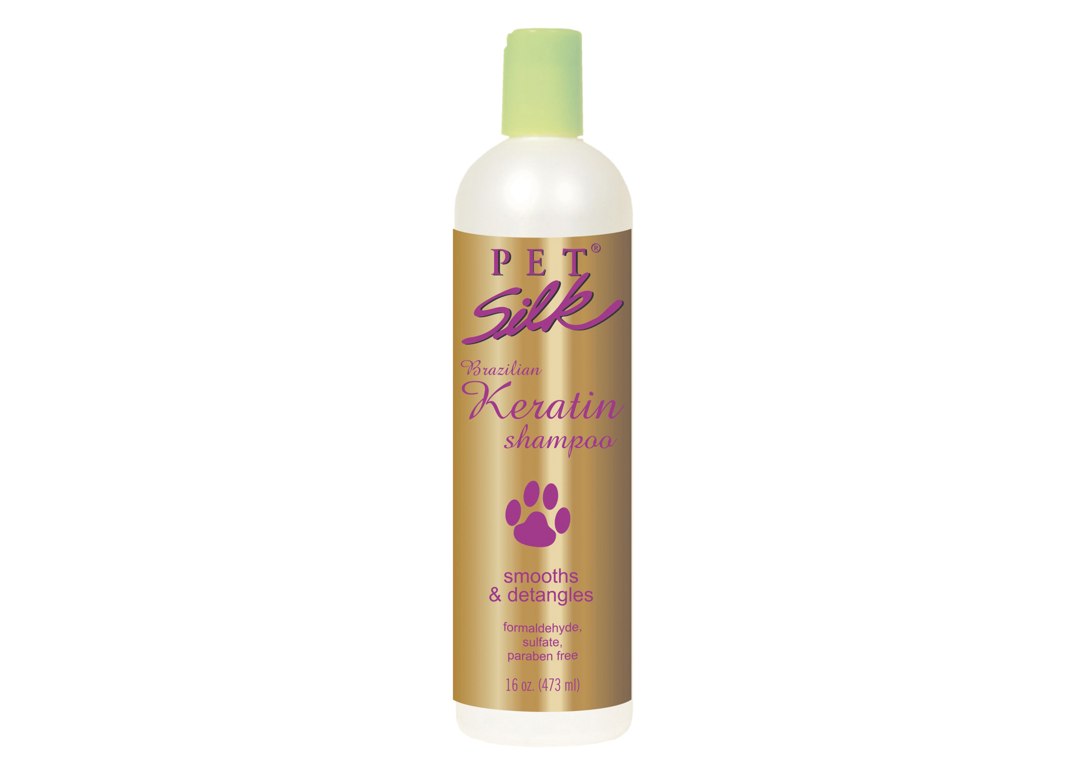 Pet Silk Brazilian Keratin 473 ml Shampoo