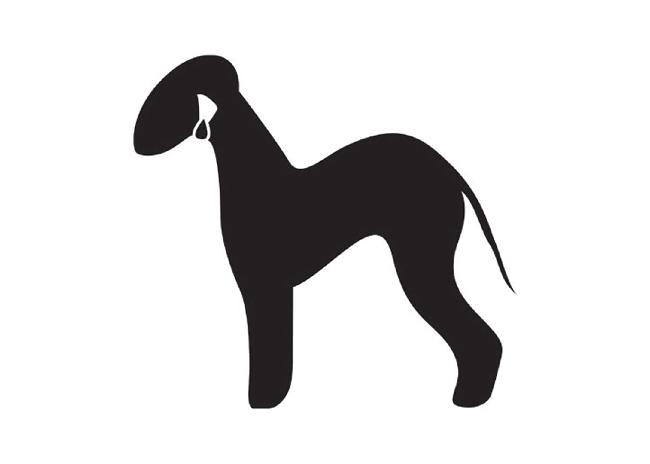 K-design Bedlington Sticker For Groomers