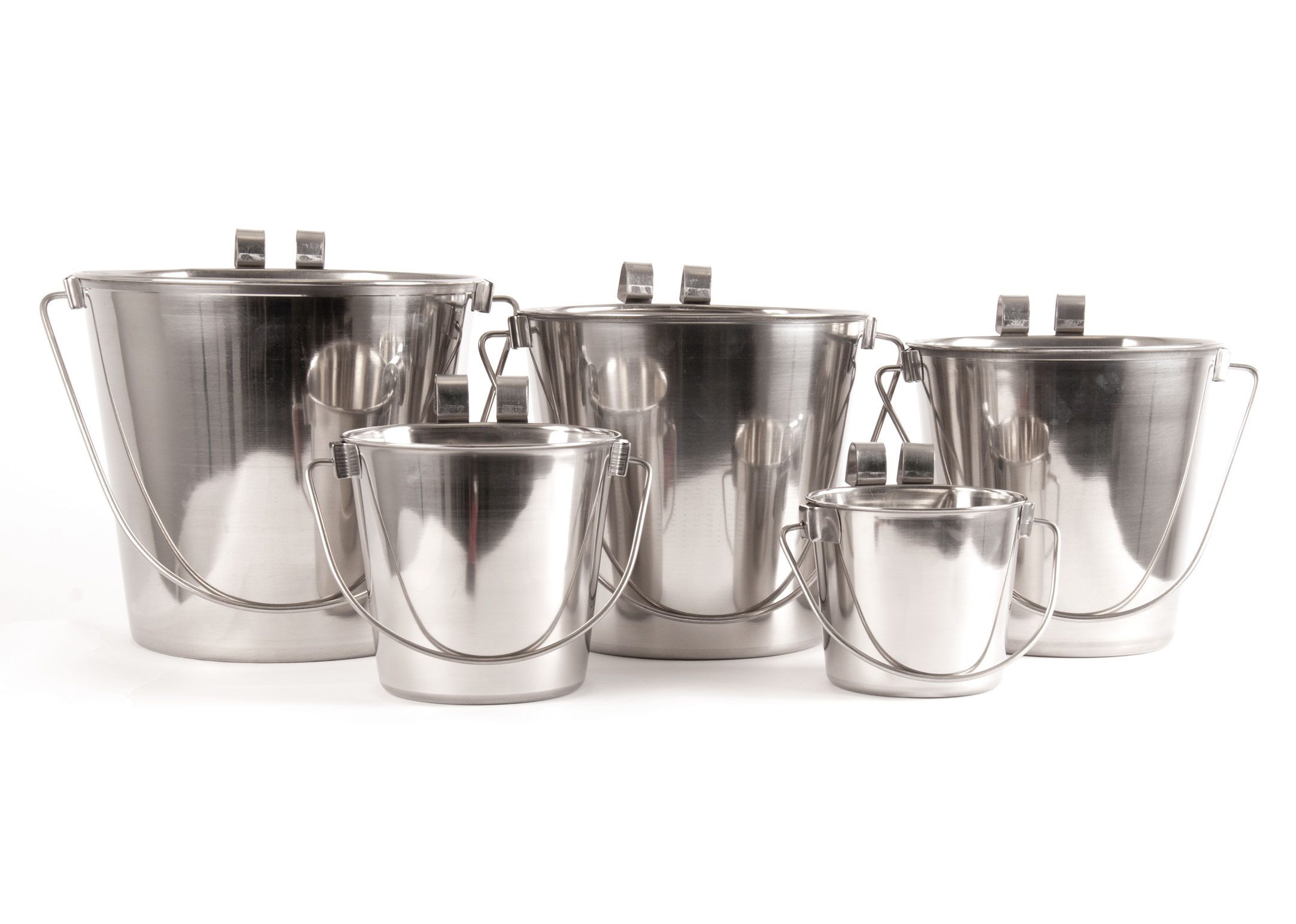 Show Tech Pail with One Flat Side and 2 hooks 13cm - 950 ml