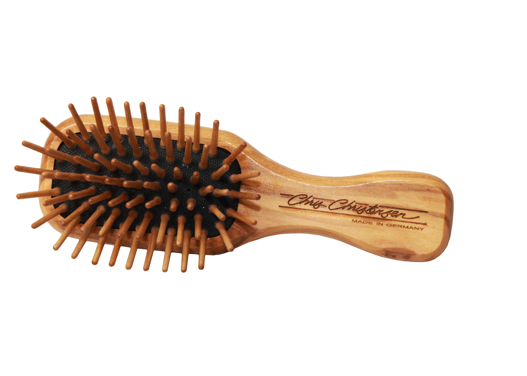 Chris Christensen Systems Tiny Tot Wood Pin Brush 11cm - 15mm Pins