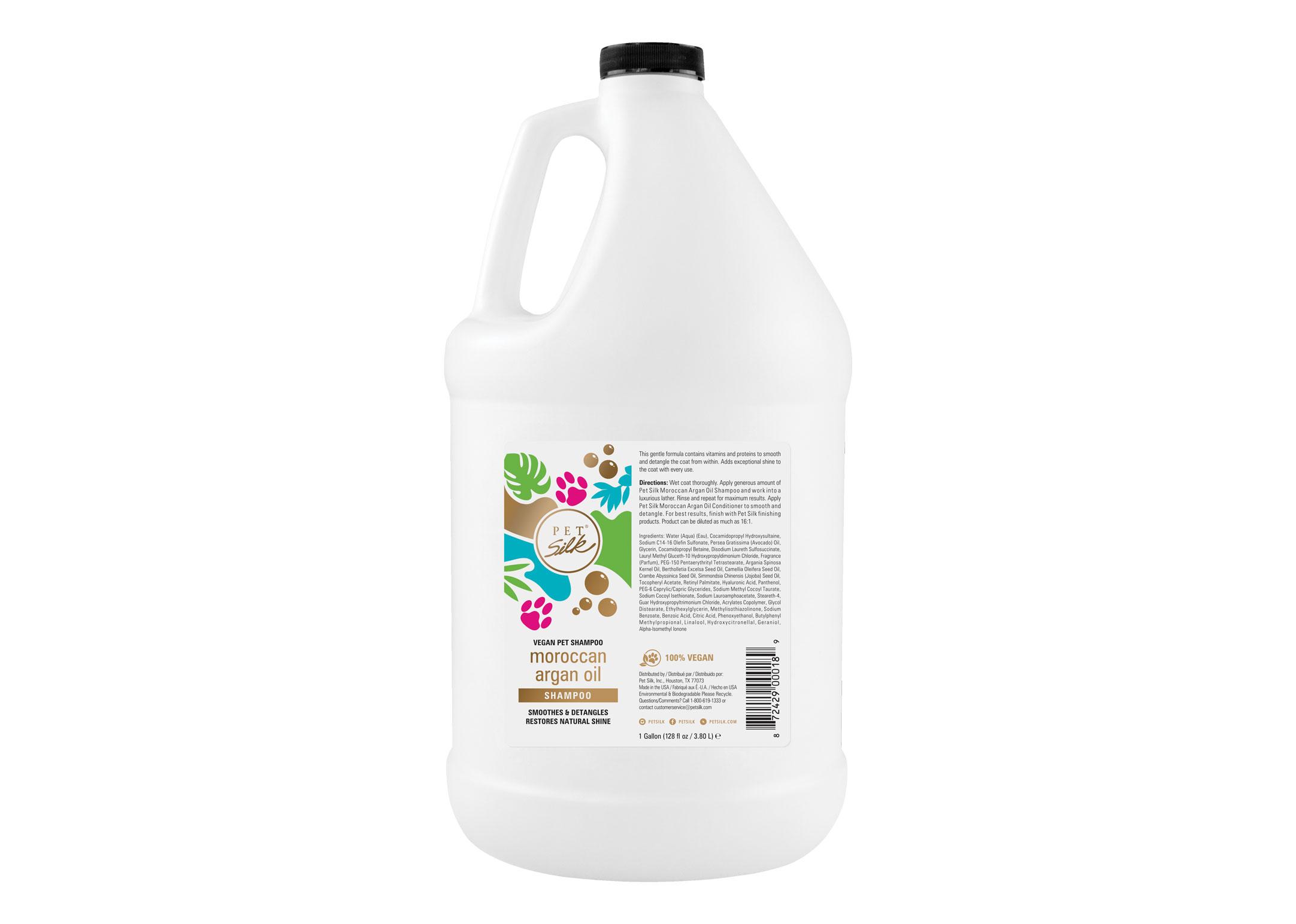 Pet Silk Vegan Moroccan Argan Oil 3,8 L Shampoo